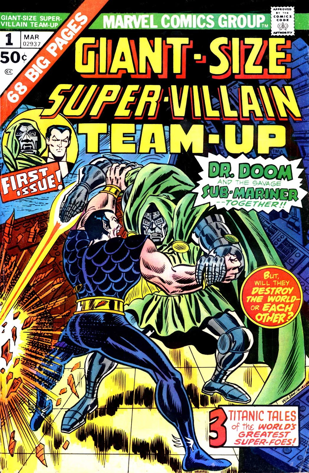 Giant-Size Super-Villain Team-Up issue 1 - Page 1