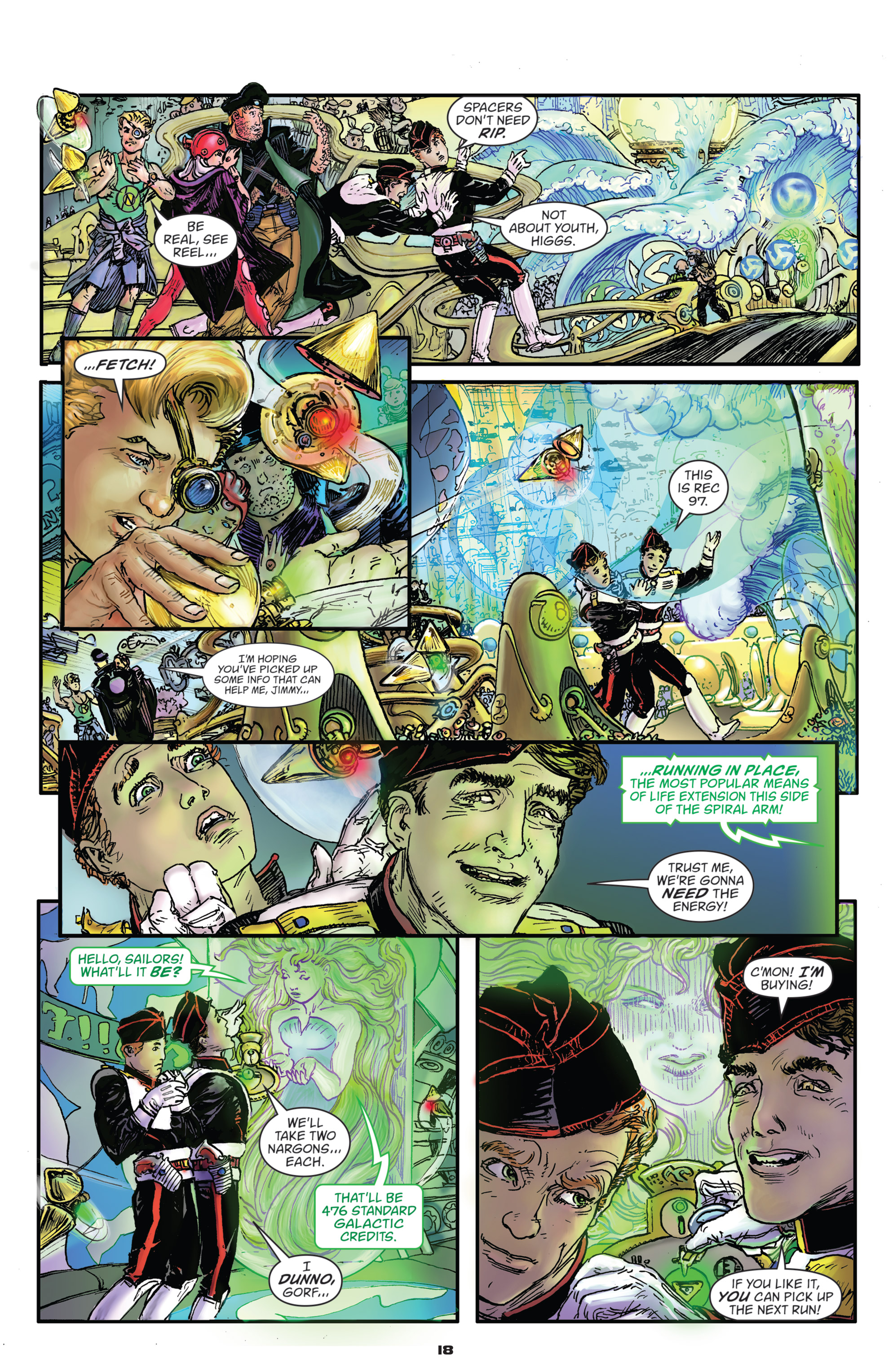 Read online Starstruck: Old Proldiers Never Die comic -  Issue #4 - 19