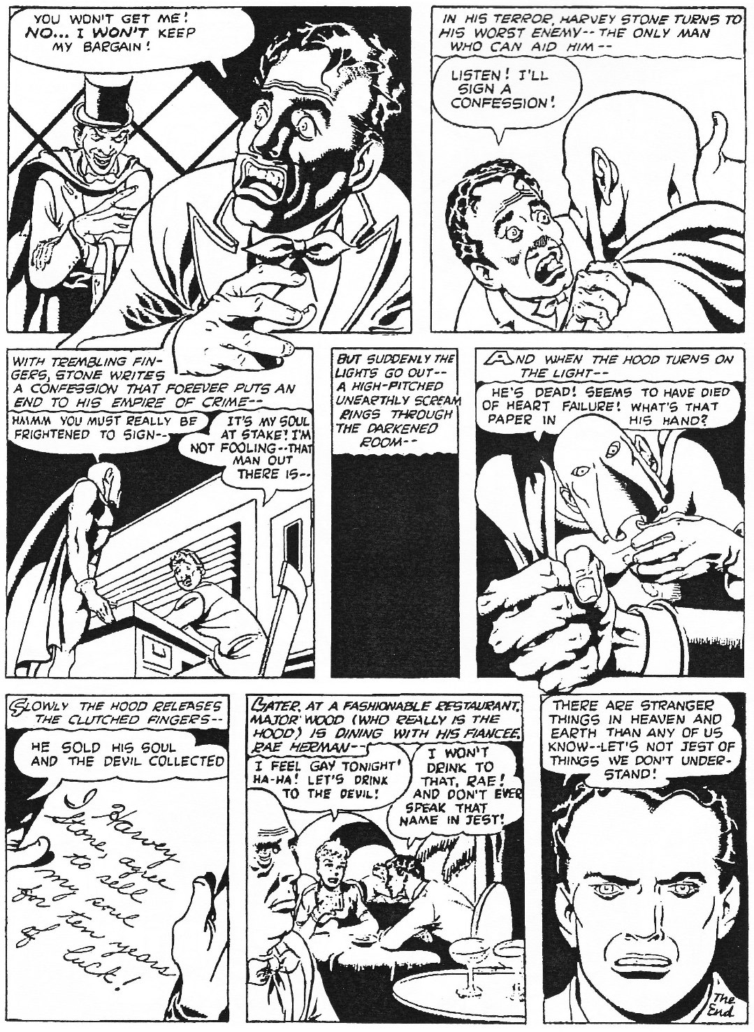 Read online Men of Mystery Comics comic -  Issue #76 - 20