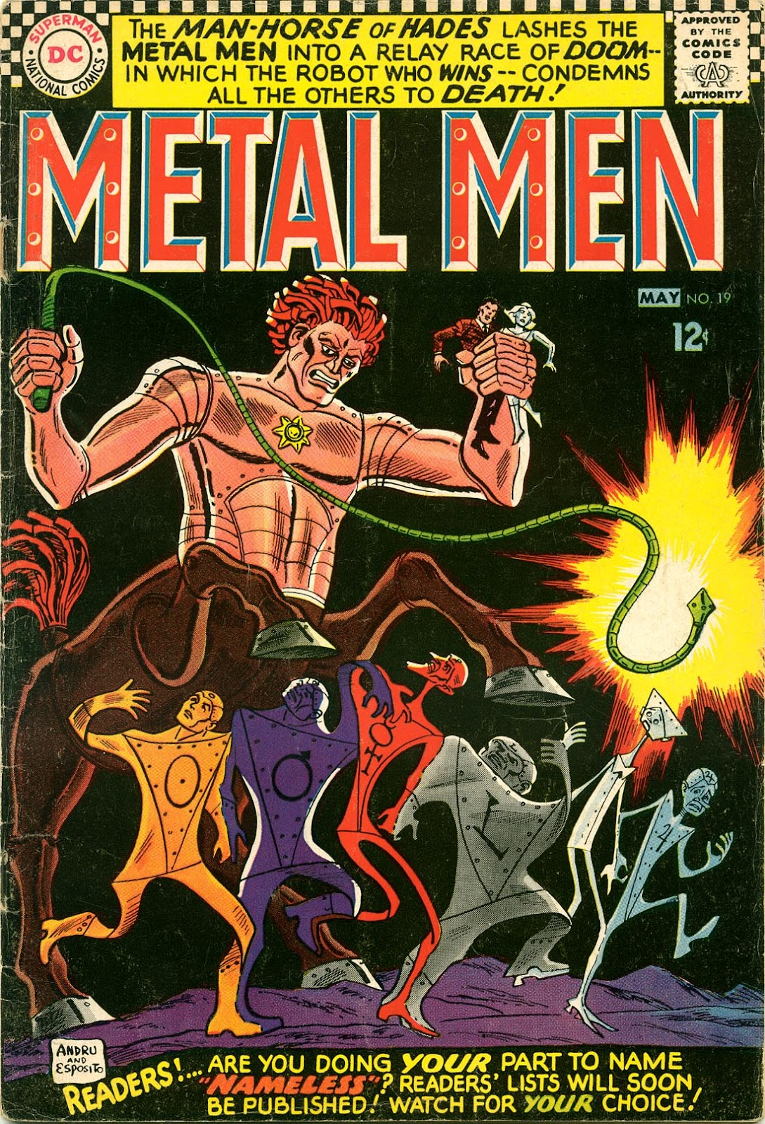 Metal Men (1963) issue 19 - Page 1