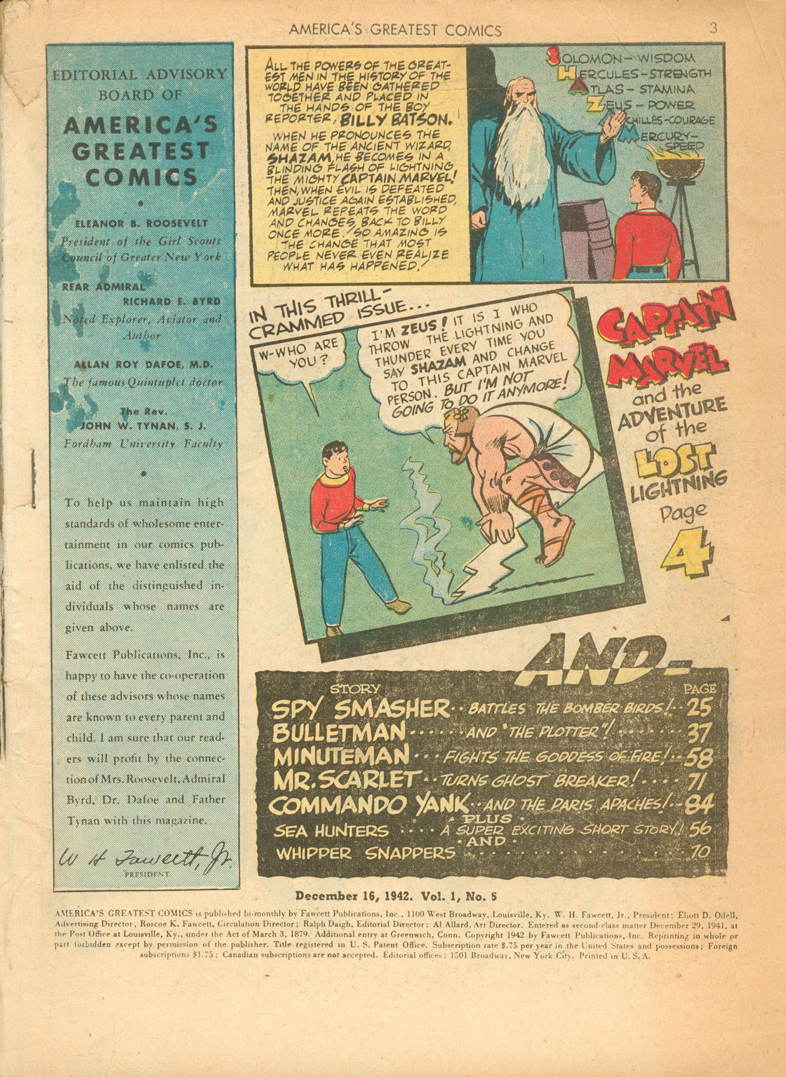 Read online America's Greatest Comics comic -  Issue #5 - 3