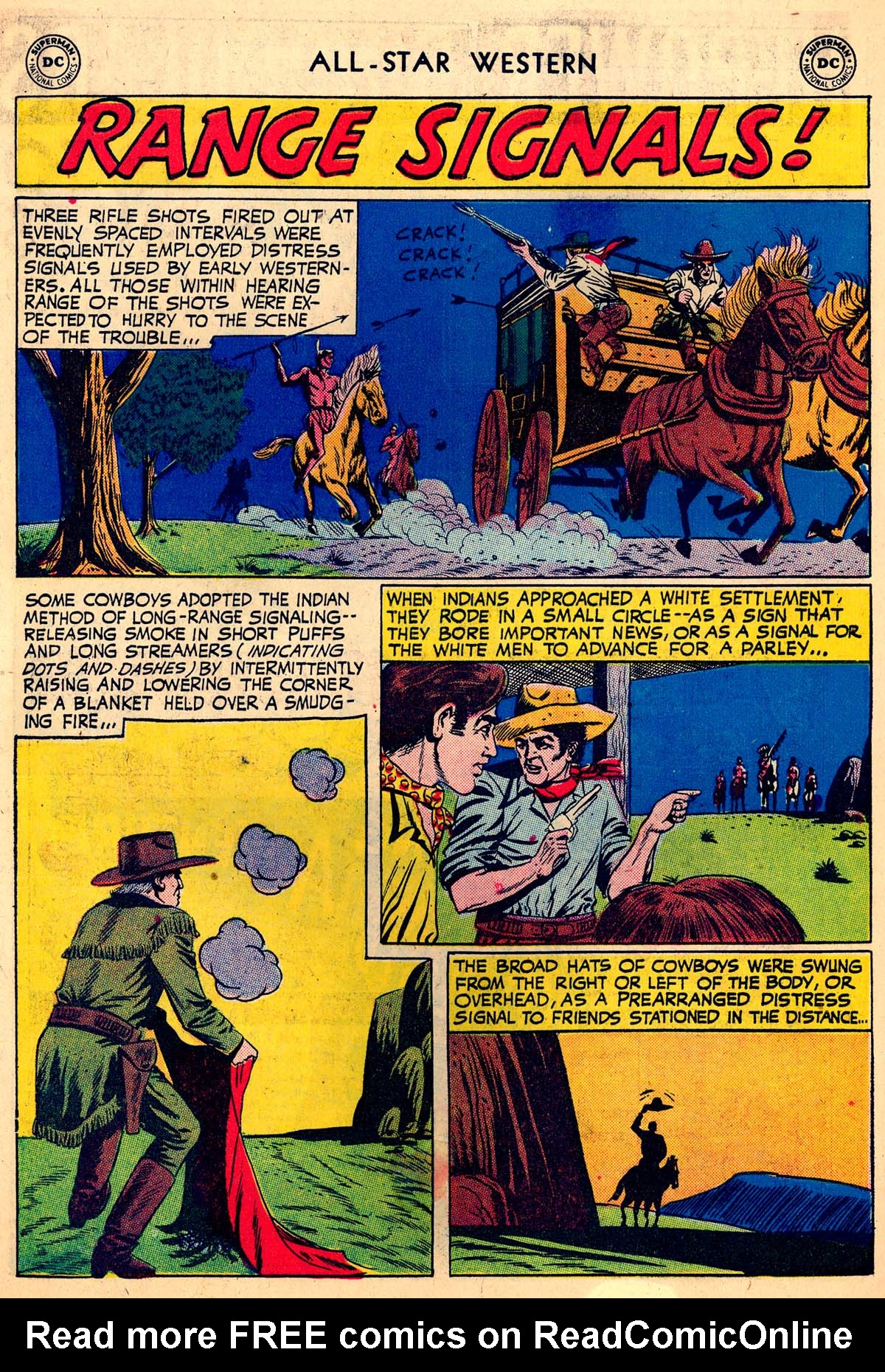 Read online All-Star Western (1951) comic -  Issue #110 - 22