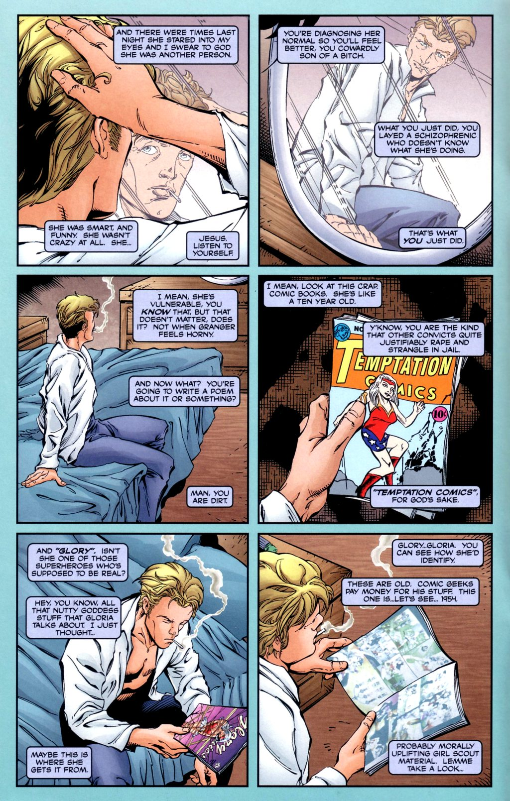 Read online Alan Moore's Glory comic -  Issue #2 - 10