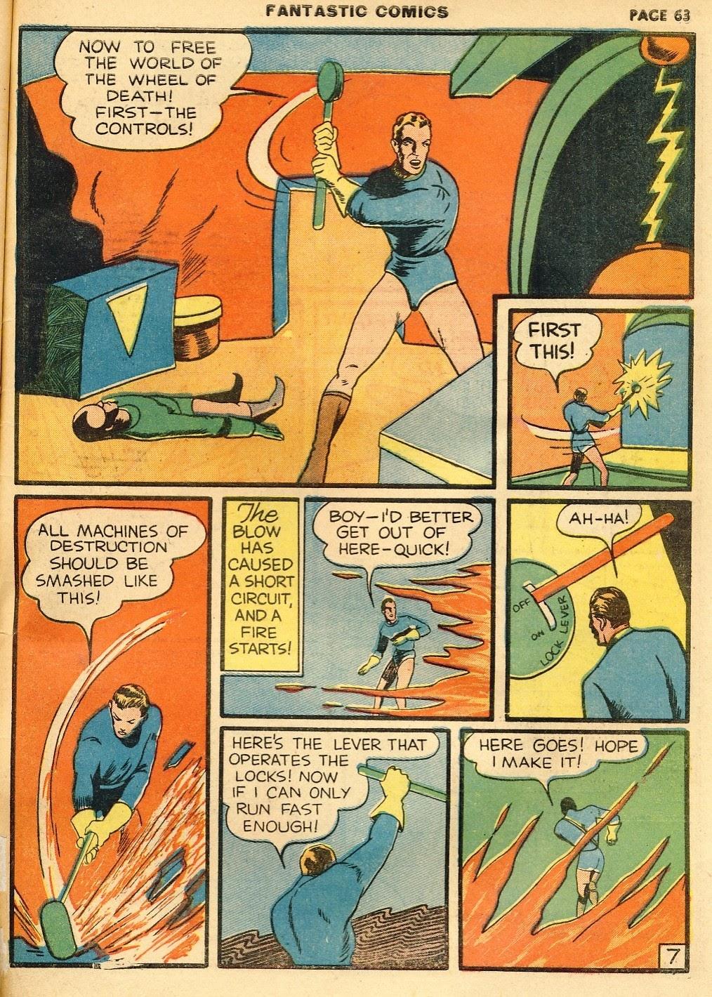 Read online Fantastic Comics comic -  Issue #10 - 64
