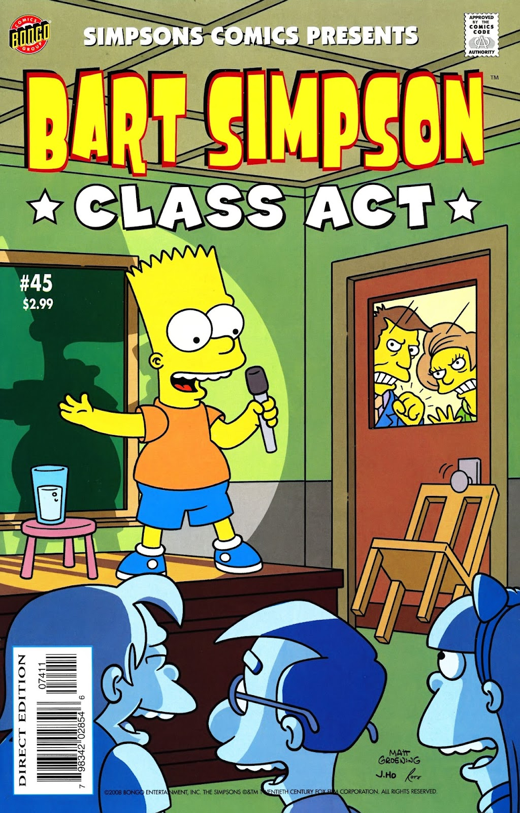 Simpsons Comics Presents Bart Simpson 45 Page 1