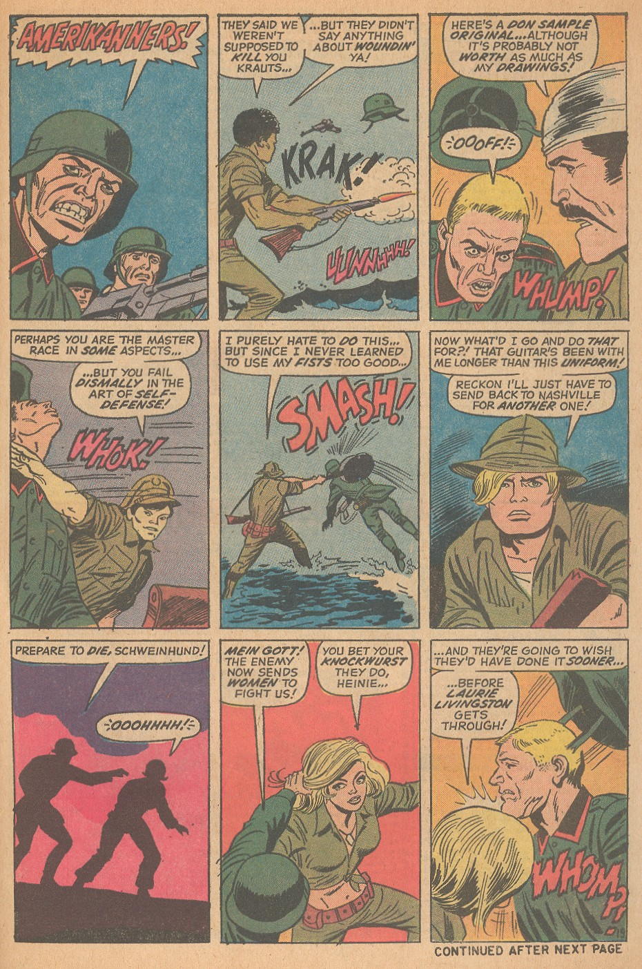 Read online Sgt. Fury comic -  Issue #98 - 27