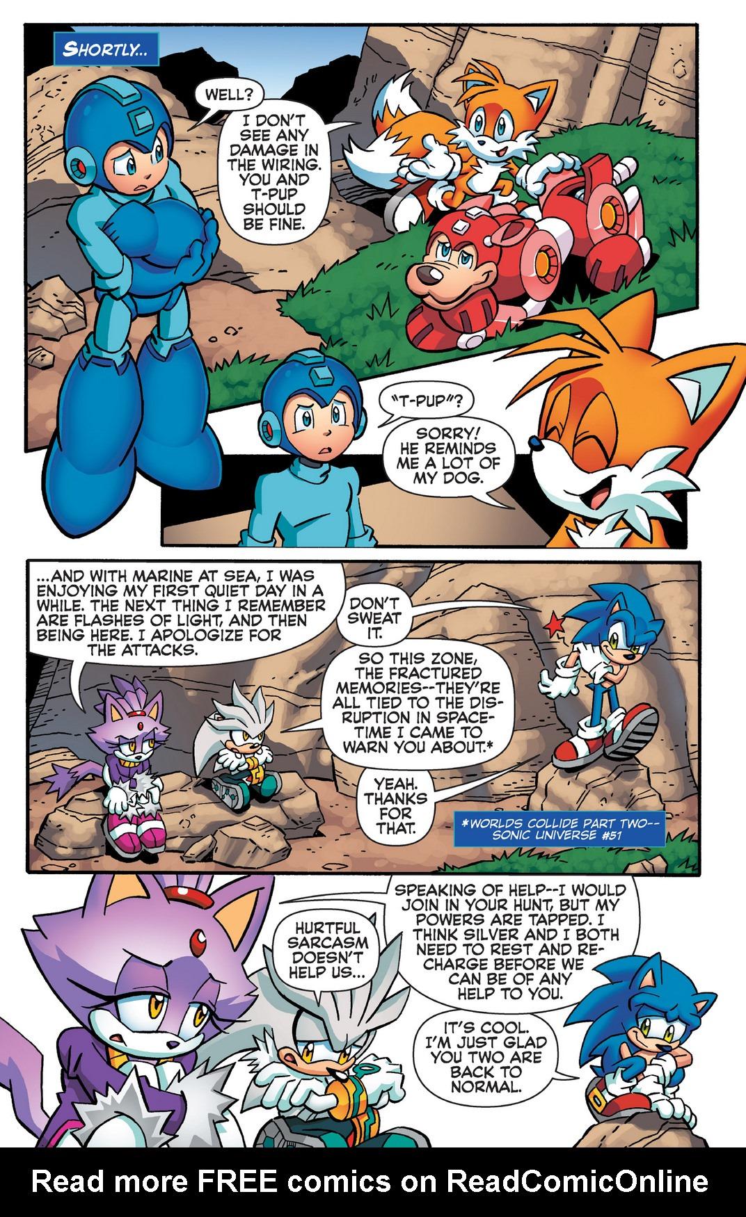 Read online Sonic Mega Man Worlds Collide comic -  Issue # Vol 2 - 76