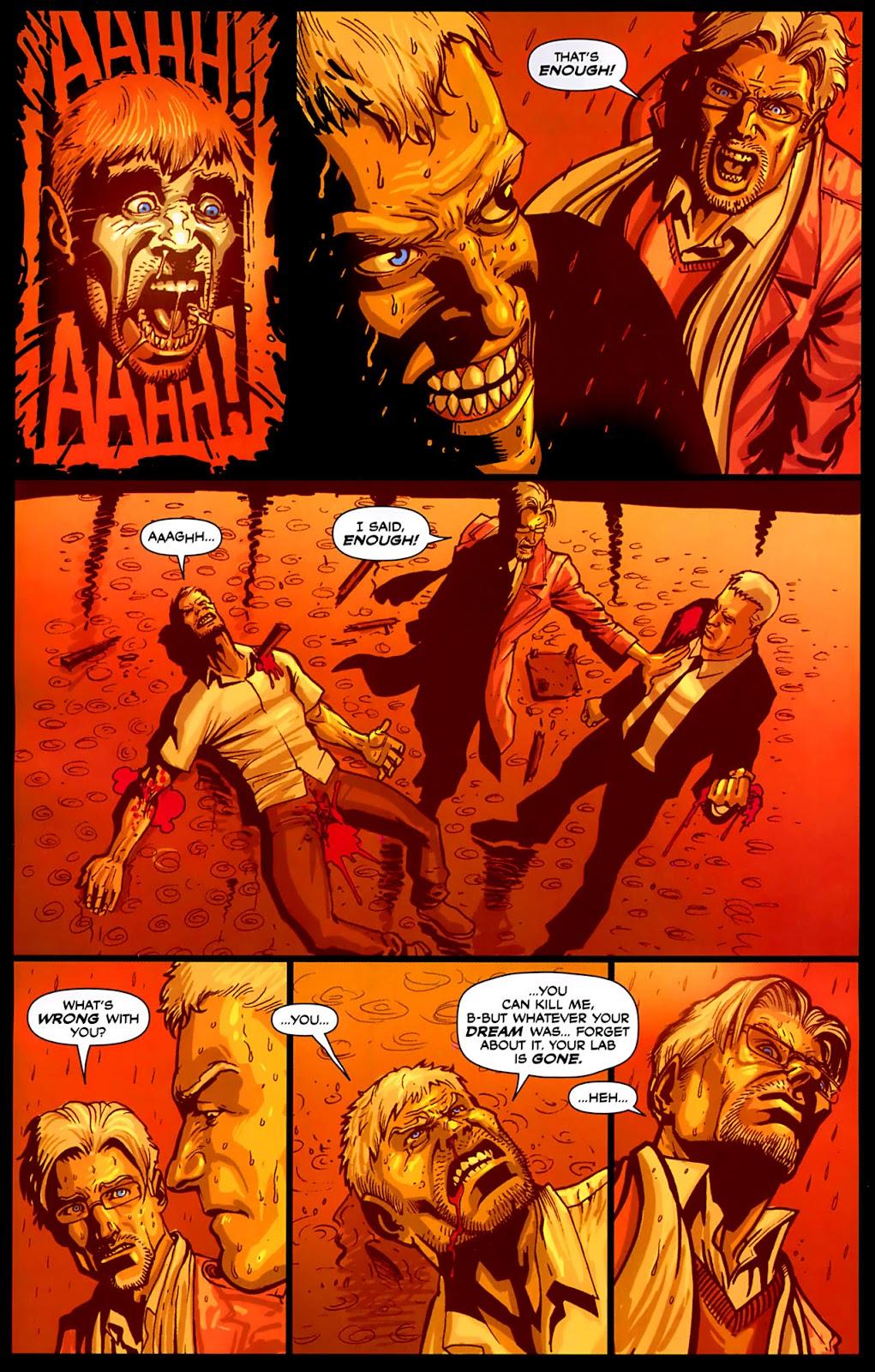 Read online Lazarus (2007) comic -  Issue #3 - 20