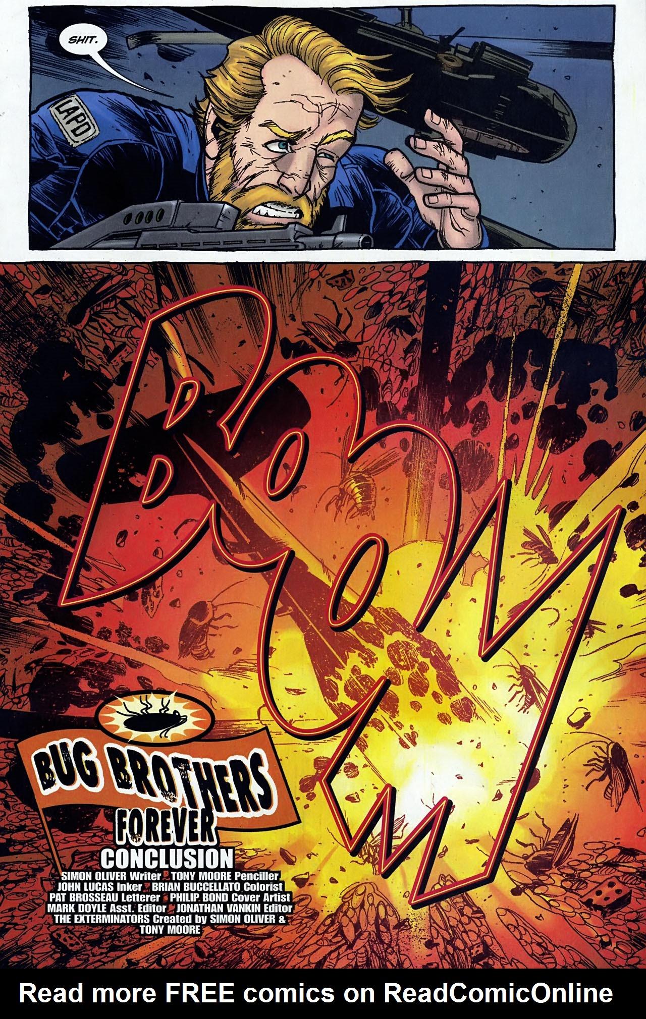 Read online The Exterminators comic -  Issue #30 - 6