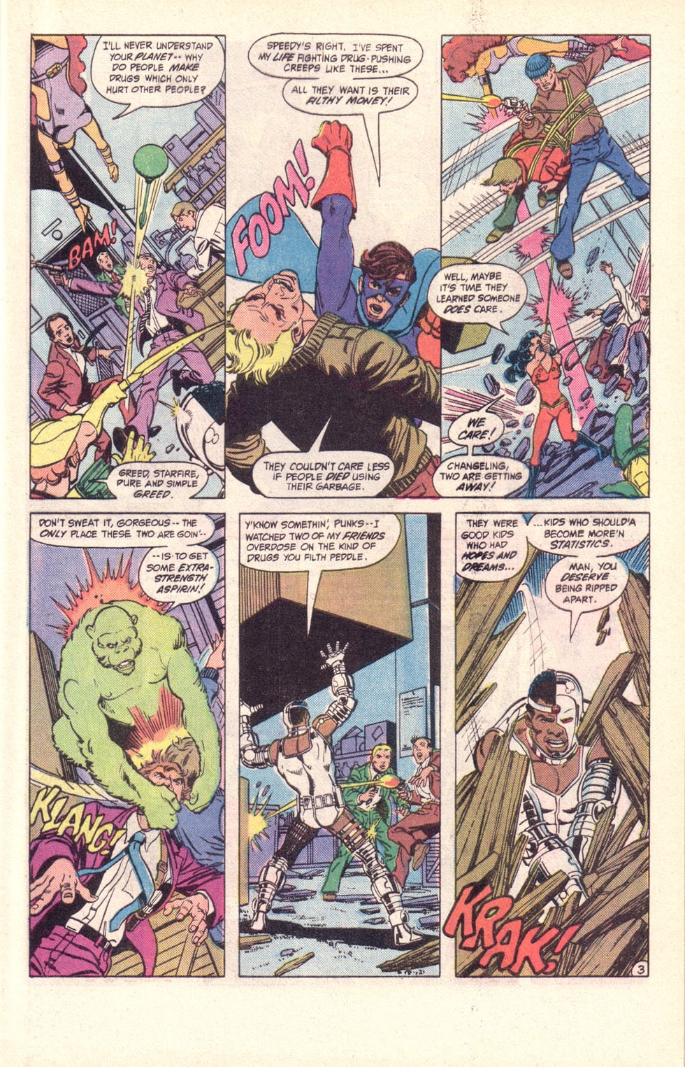 Read online The New Teen Titans (Drug Awareness Specials) comic -  Issue #2 - 5