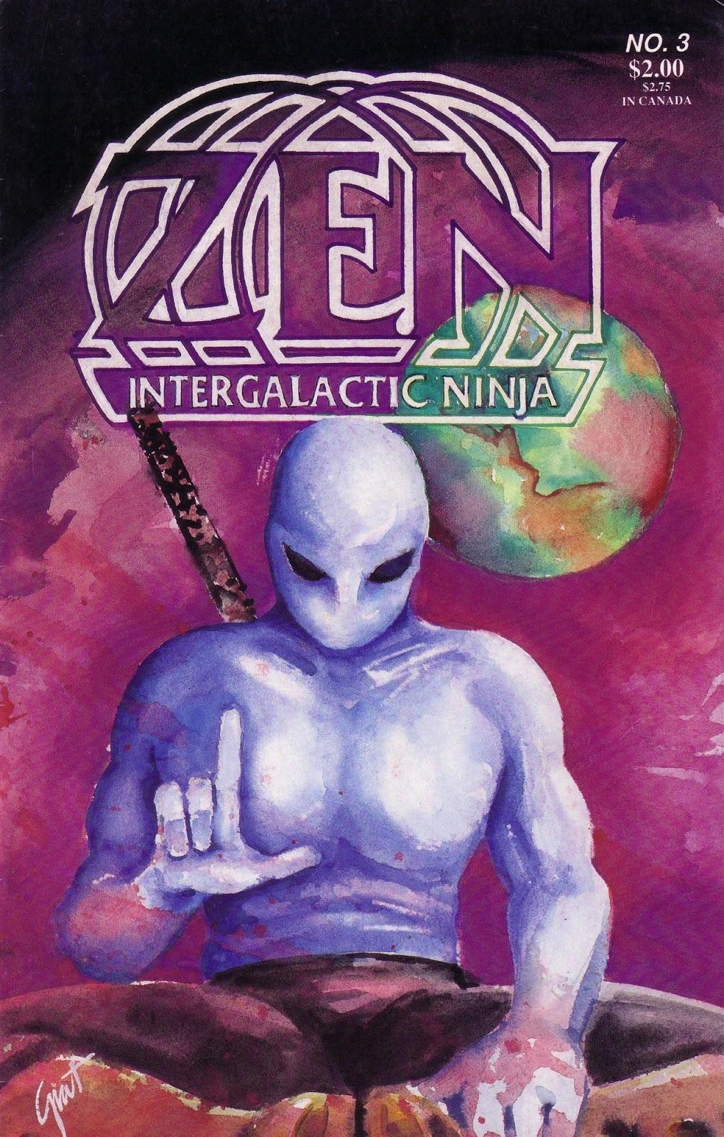 Zen Intergalactic Ninja (1989) 3 Page 1