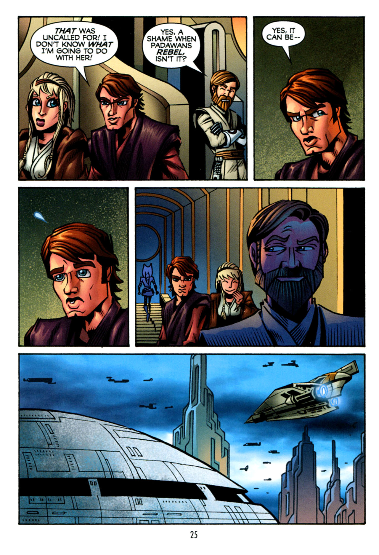 Read online Star Wars: The Clone Wars - The Starcrusher Trap comic -  Issue # Full - 26