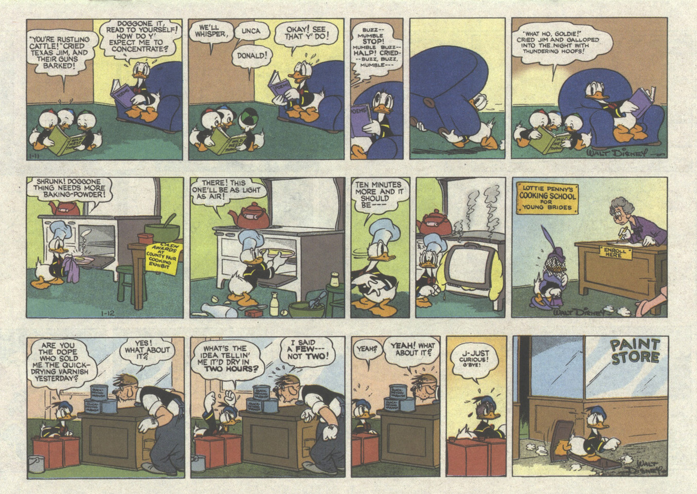 Walt Disney's Donald Duck (1952) issue 305 - Page 19