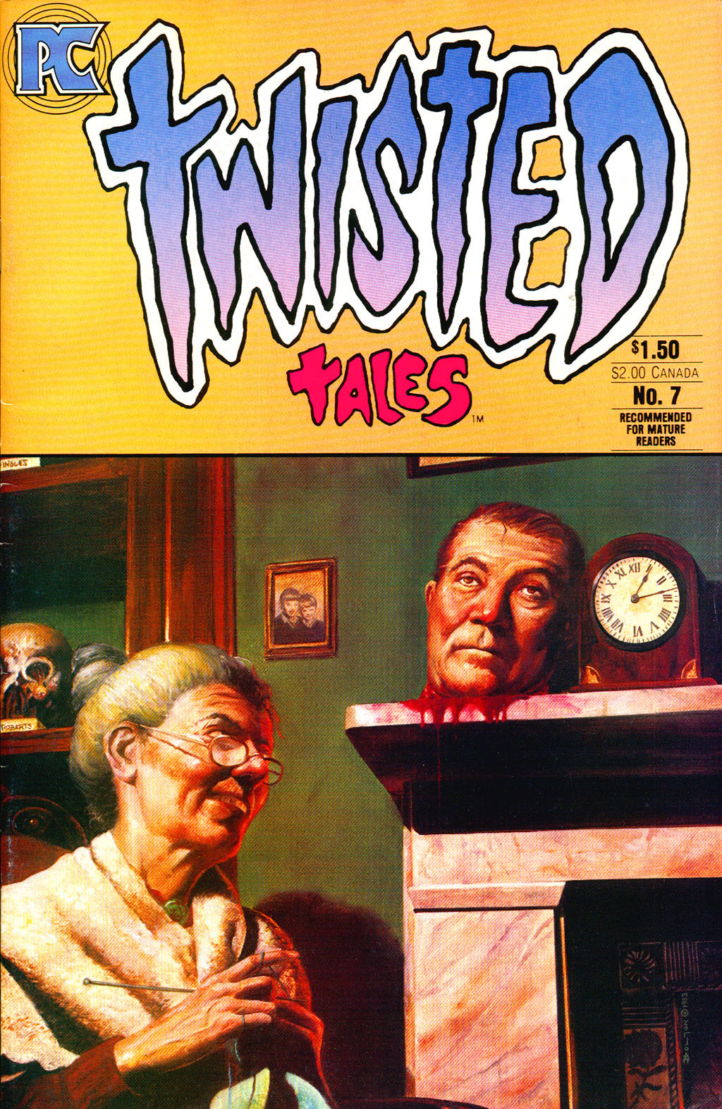Read online Twisted Tales (1982) comic -  Issue #7 - 1