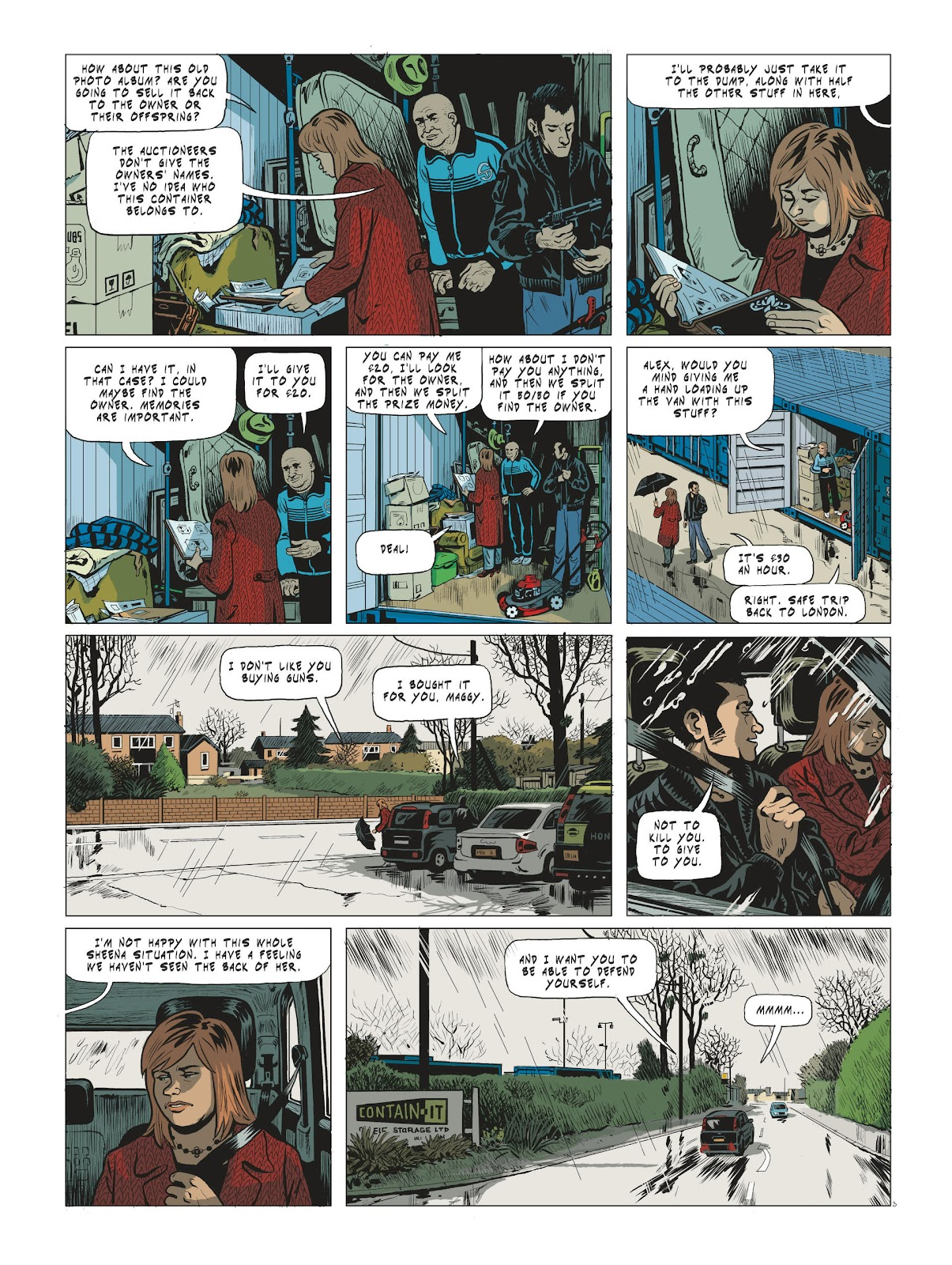 Read online Maggy Garrisson comic -  Issue #3 - 5
