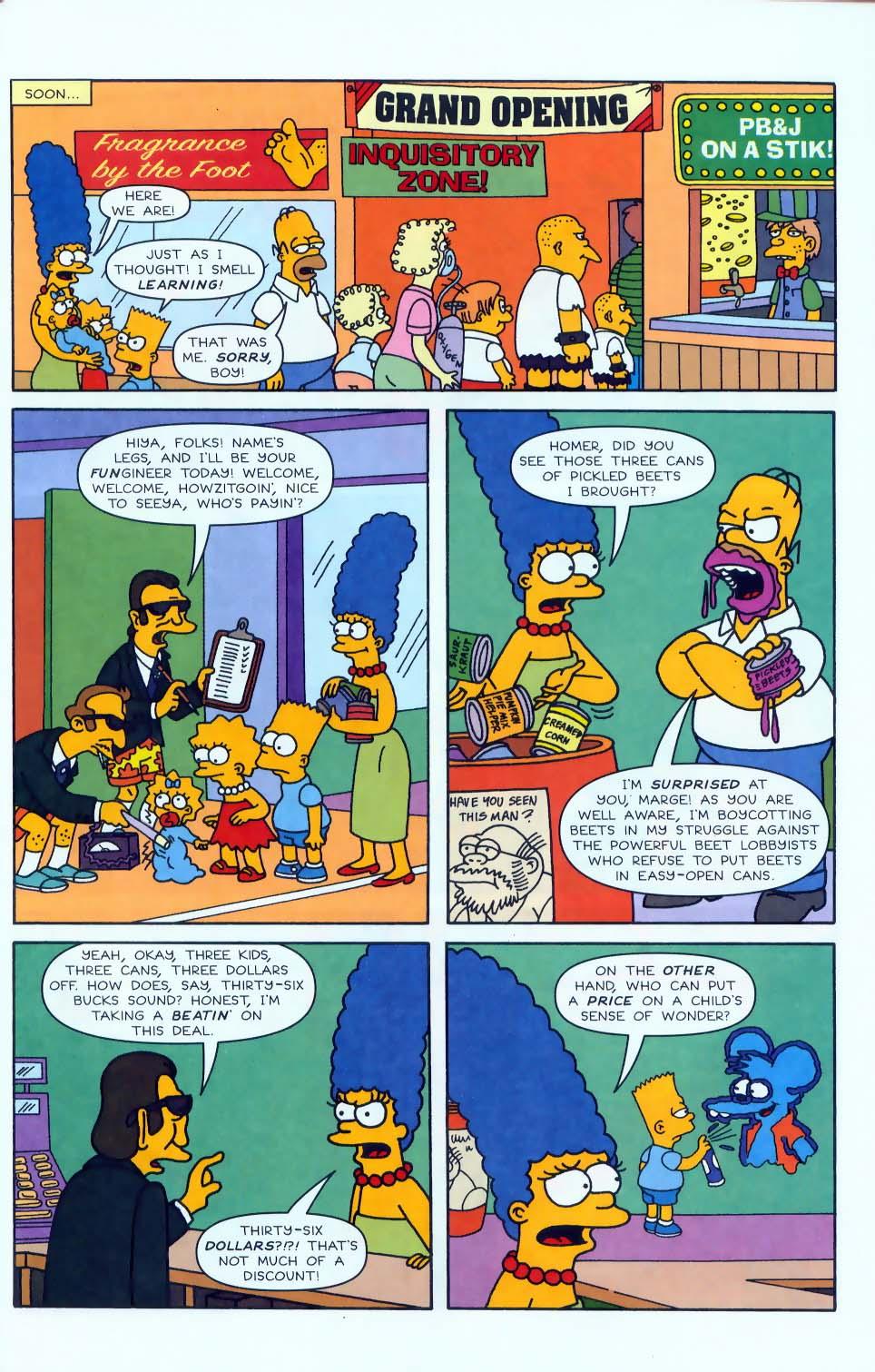 Read online Simpsons Comics comic -  Issue #50 - 66