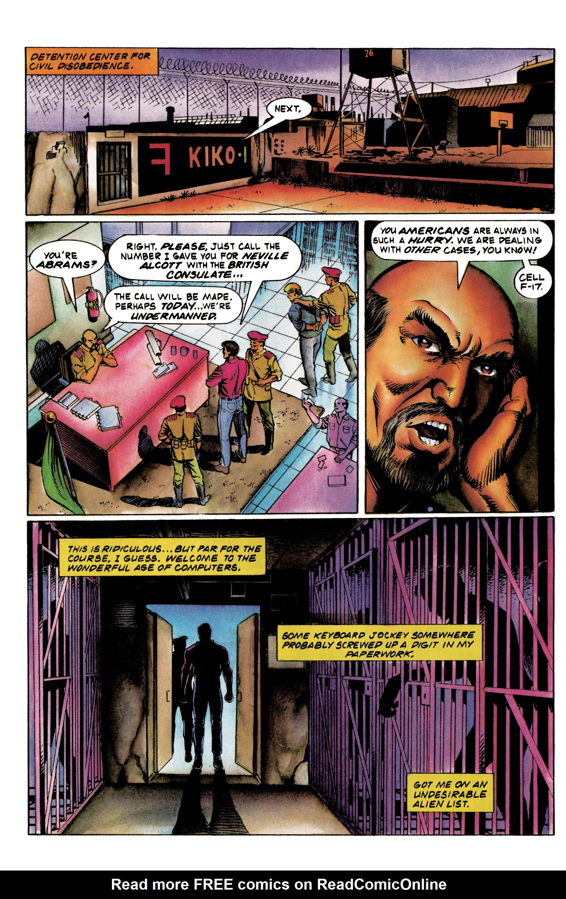 Read online Eternal Warrior (1992) comic -  Issue #20 - 8