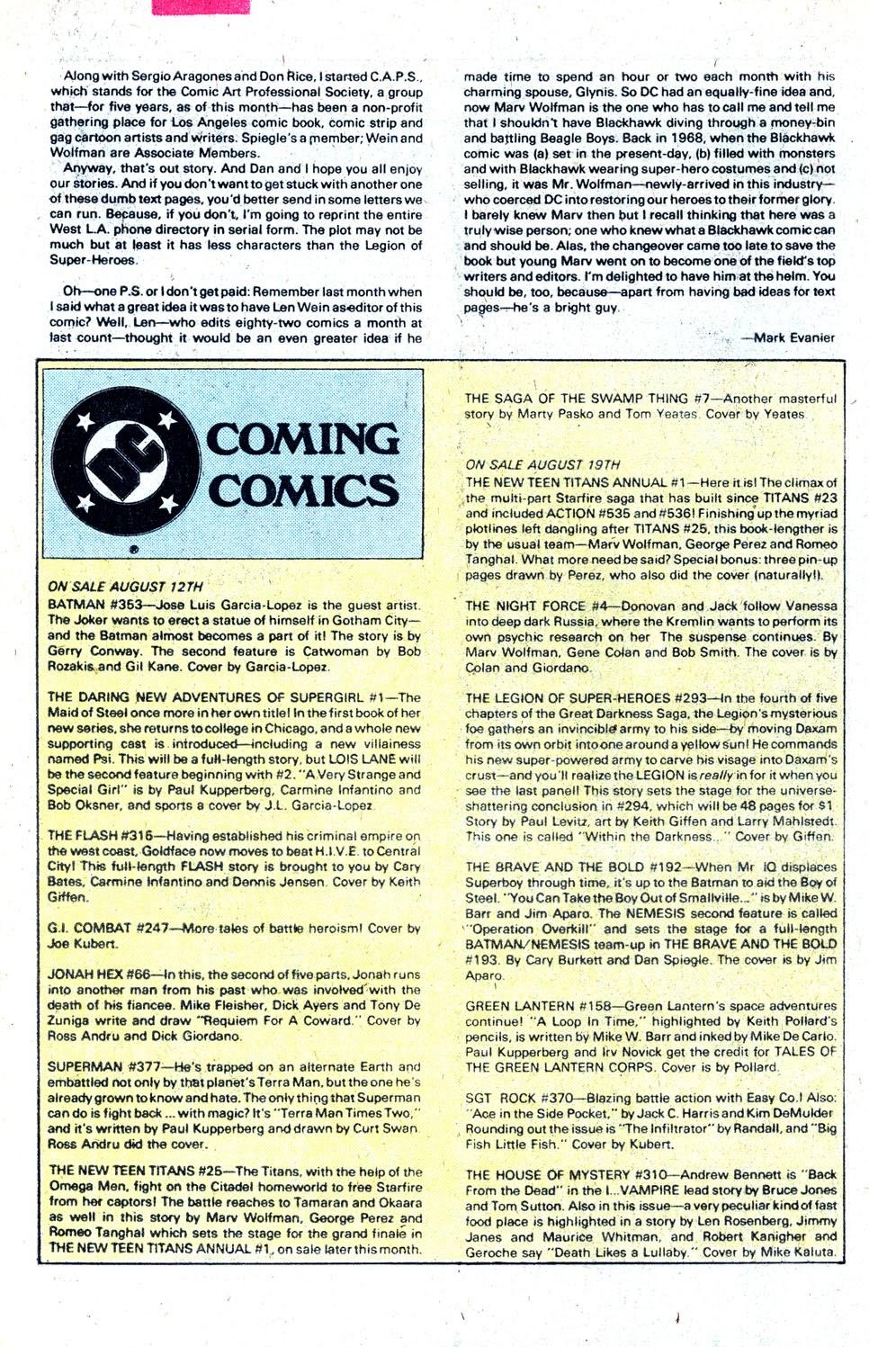Read online Blackhawk (1957) comic -  Issue #252 - 33