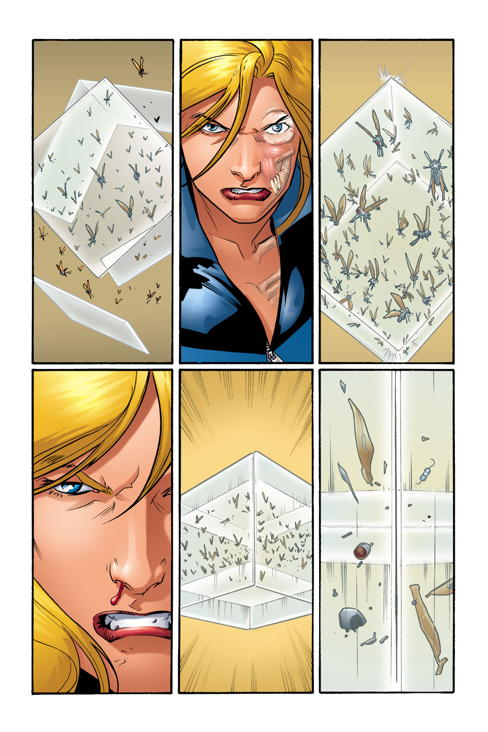 Read online Ultimate Fantastic Four (2004) comic -  Issue #9 - 7