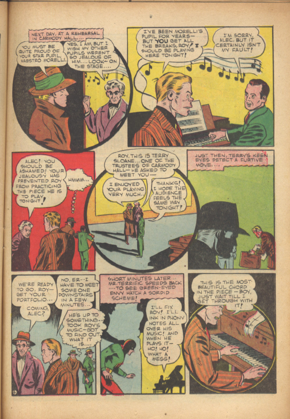 Read online Sensation (Mystery) Comics comic -  Issue #24 - 45