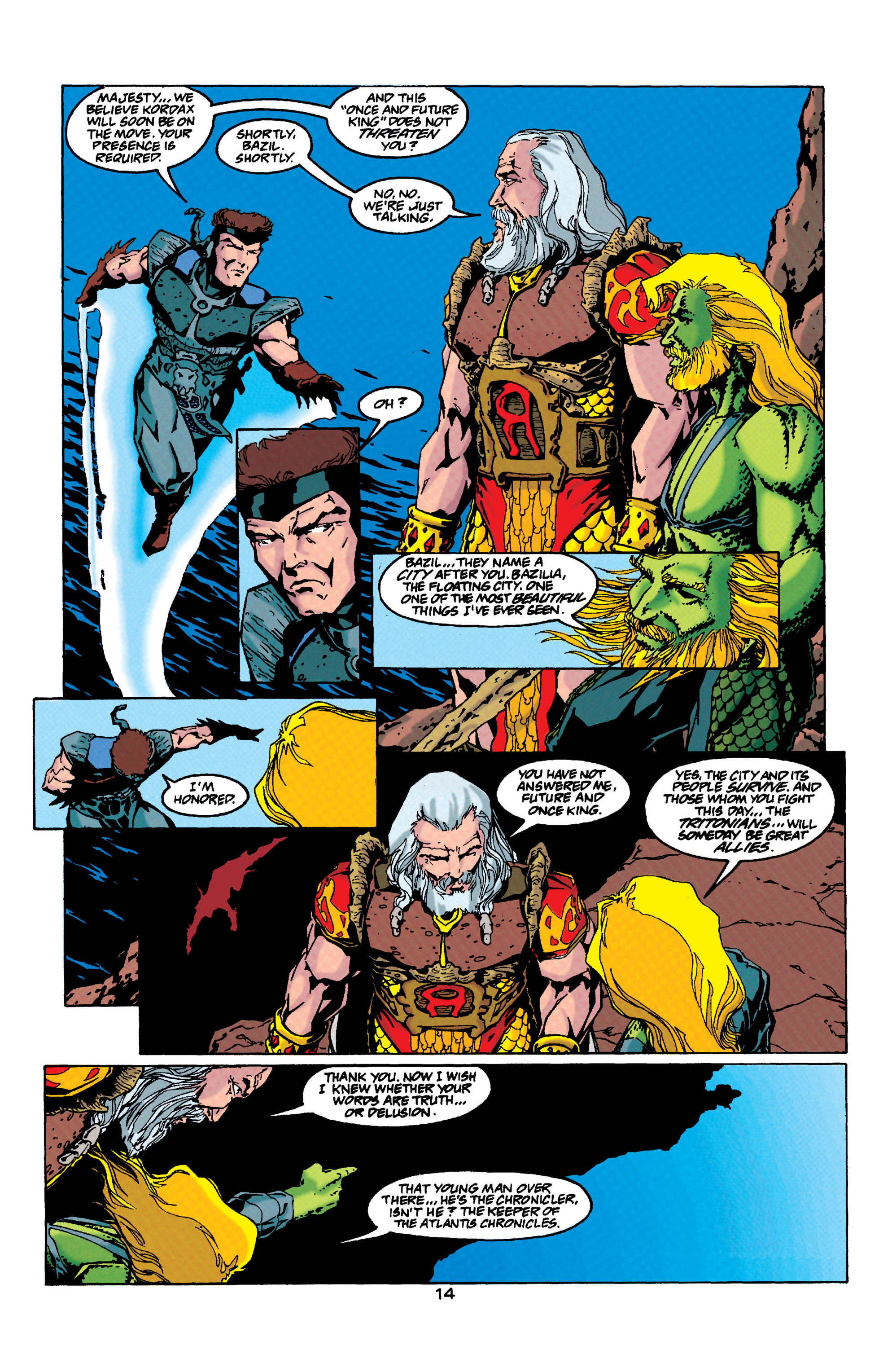 Read online Aquaman (1994) comic -  Issue #33 - 13