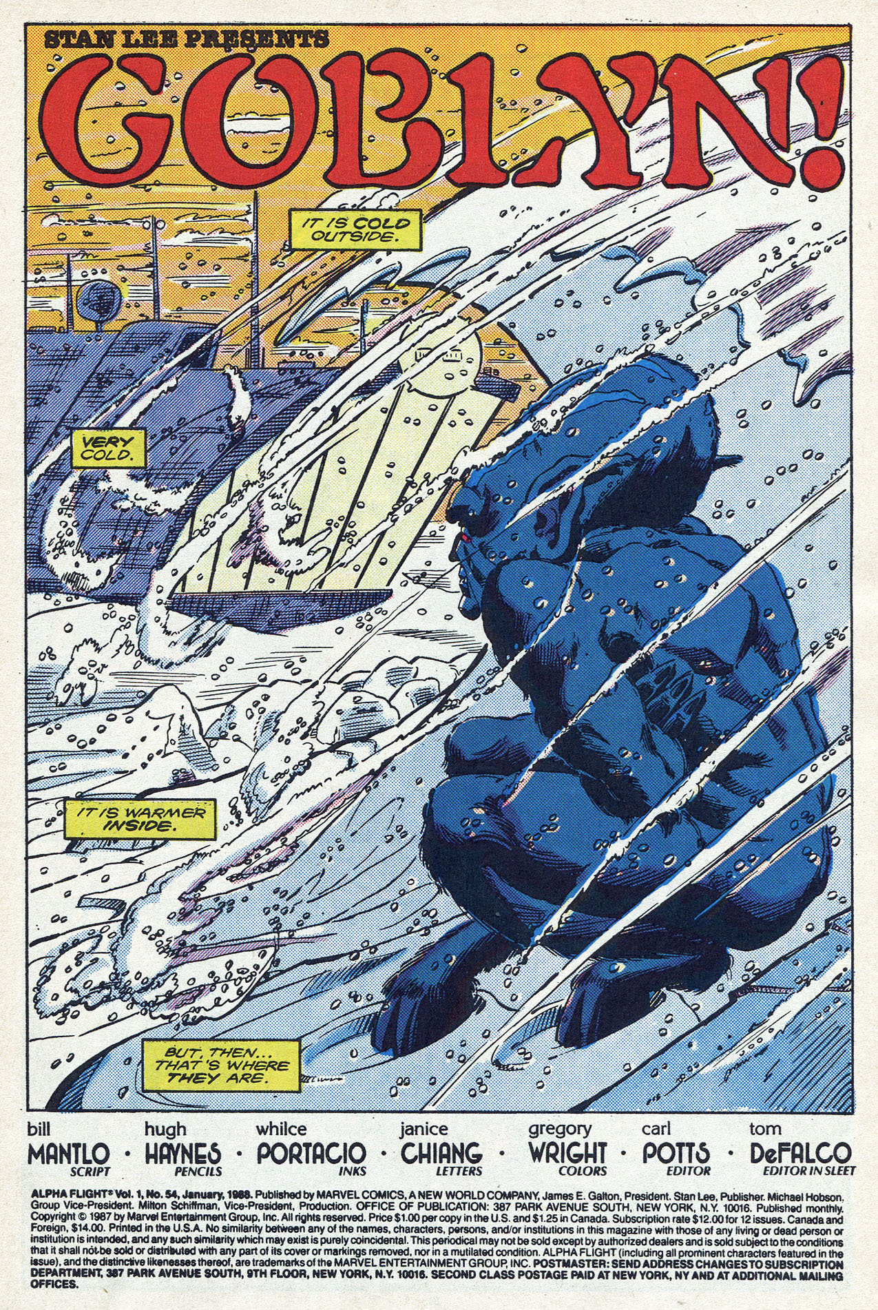 Read online Alpha Flight (1983) comic -  Issue #54 - 3