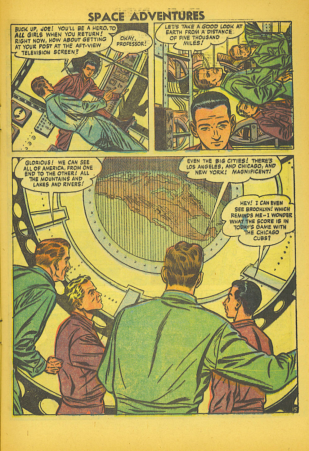 Space Adventures (1952) issue 20 - Page 17