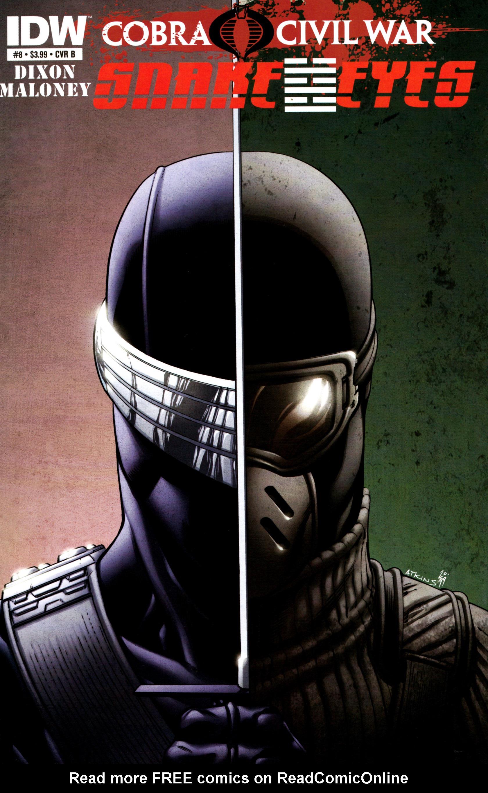 Read online G.I. Joe: Snake Eyes comic -  Issue #8 - 2