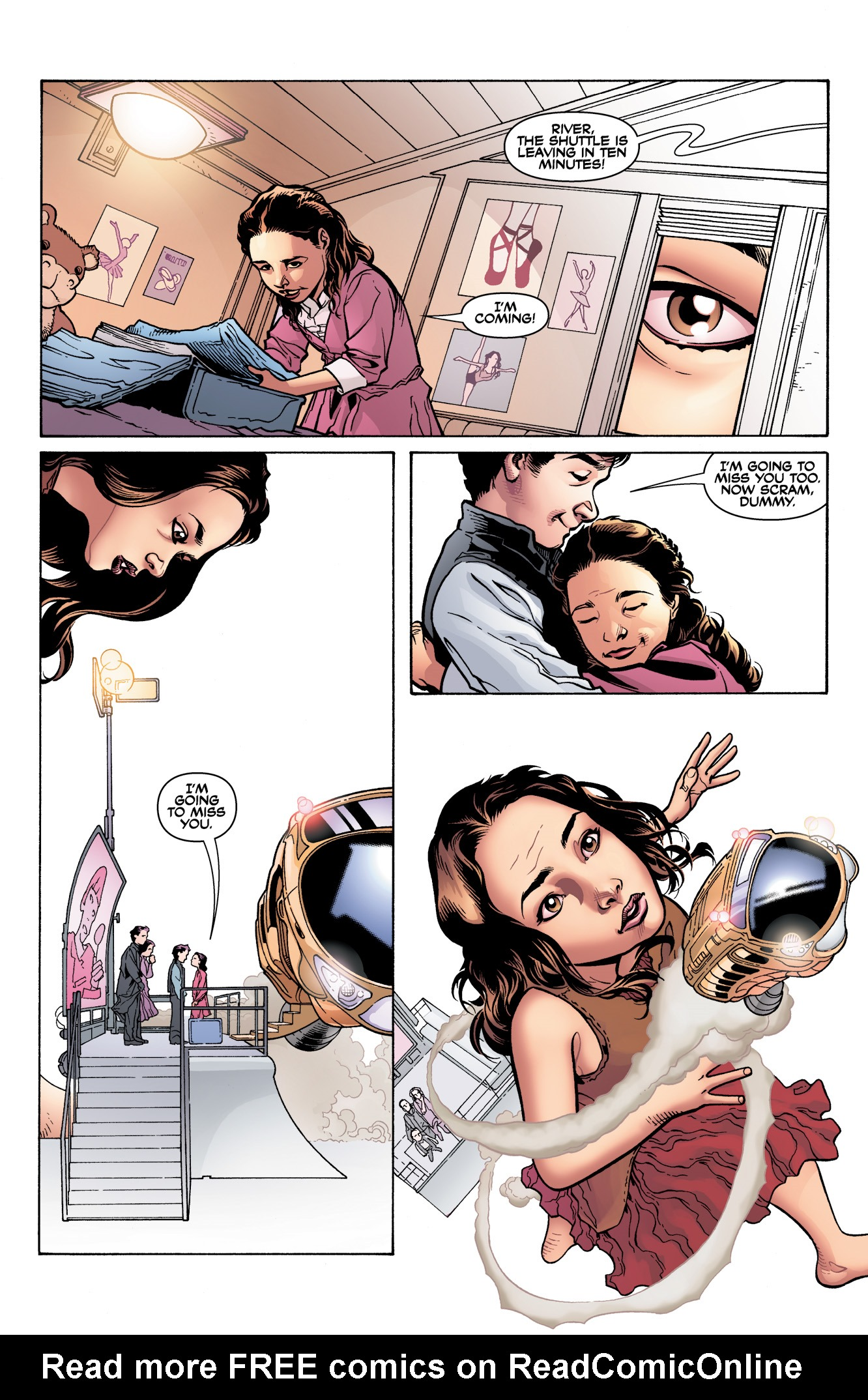Read online Serenity: Firefly Class 03-K64  Leaves on the Wind comic -  Issue #3 - 4