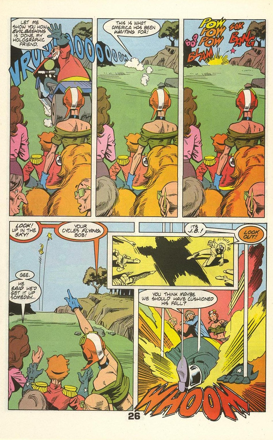 Read online American Flagg! comic -  Issue #35 - 32