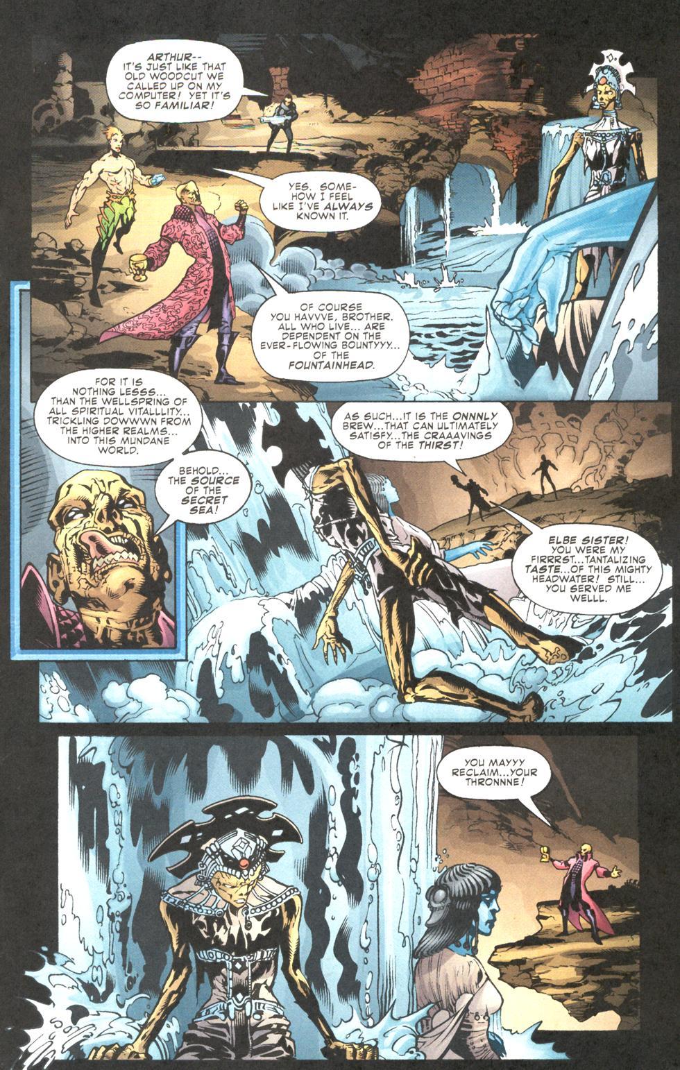 Read online Aquaman (2003) comic -  Issue #11 - 11