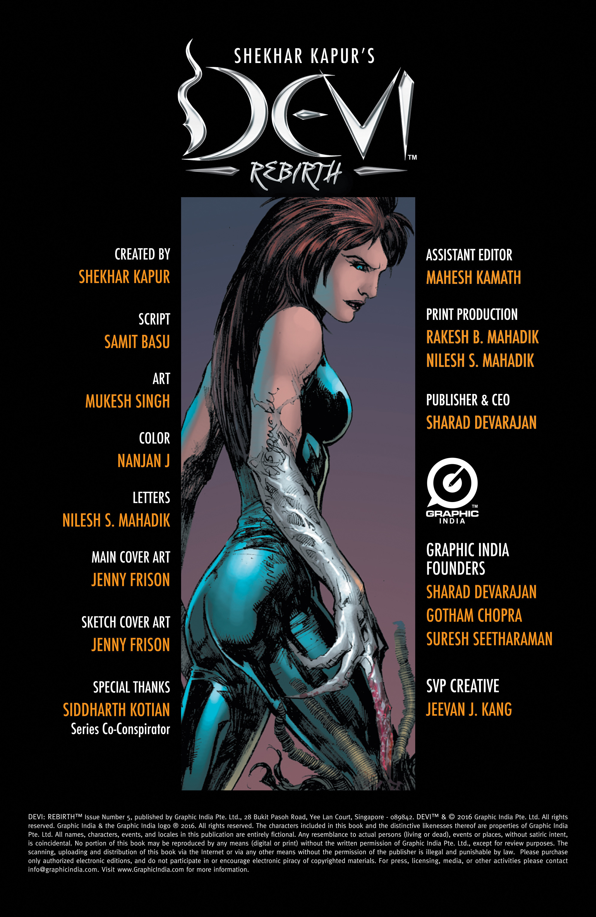 Read online Shekhar Kapur's Devi: Rebirth comic -  Issue #5 - 2
