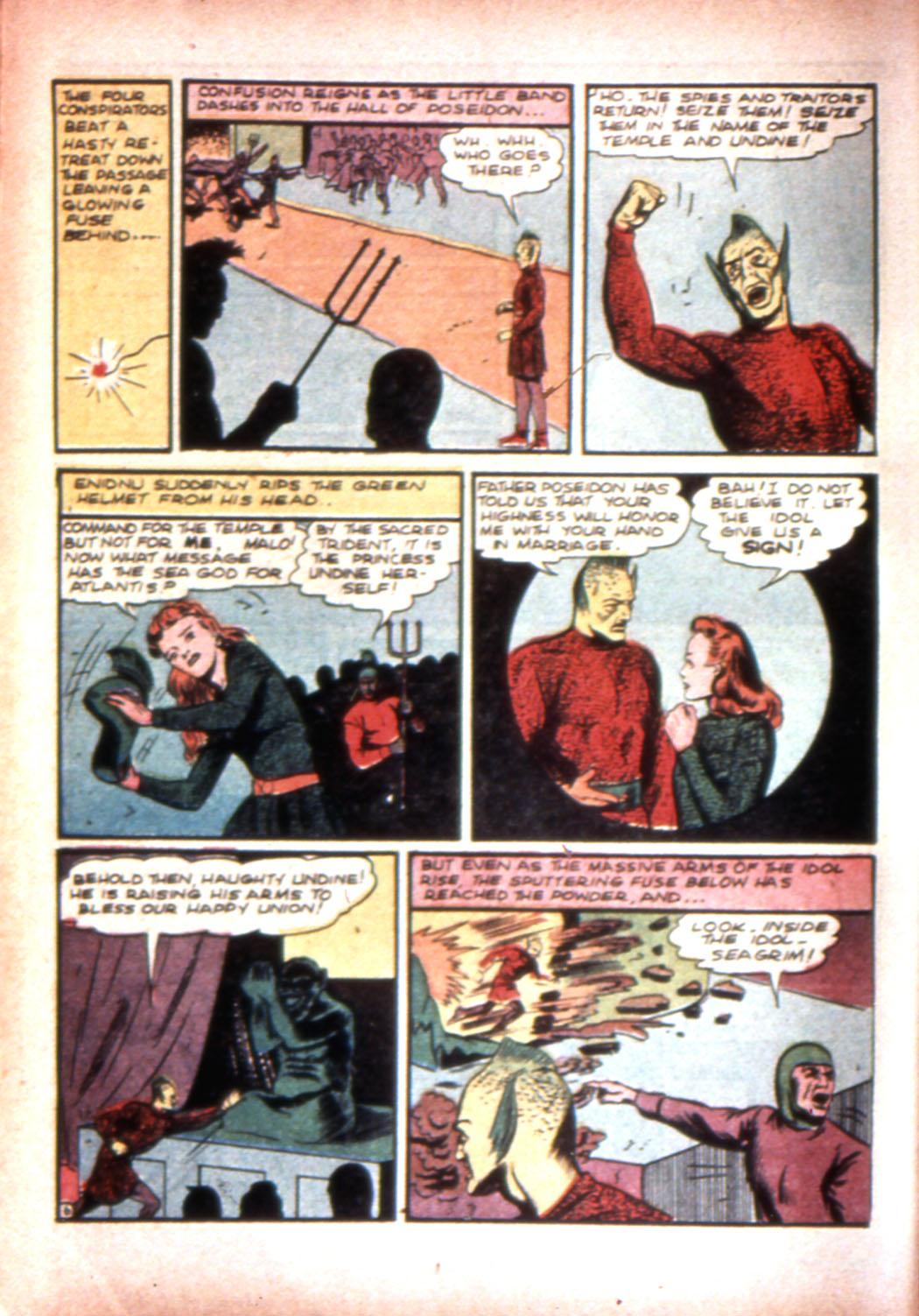 Read online Sensation (Mystery) Comics comic -  Issue #20 - 22