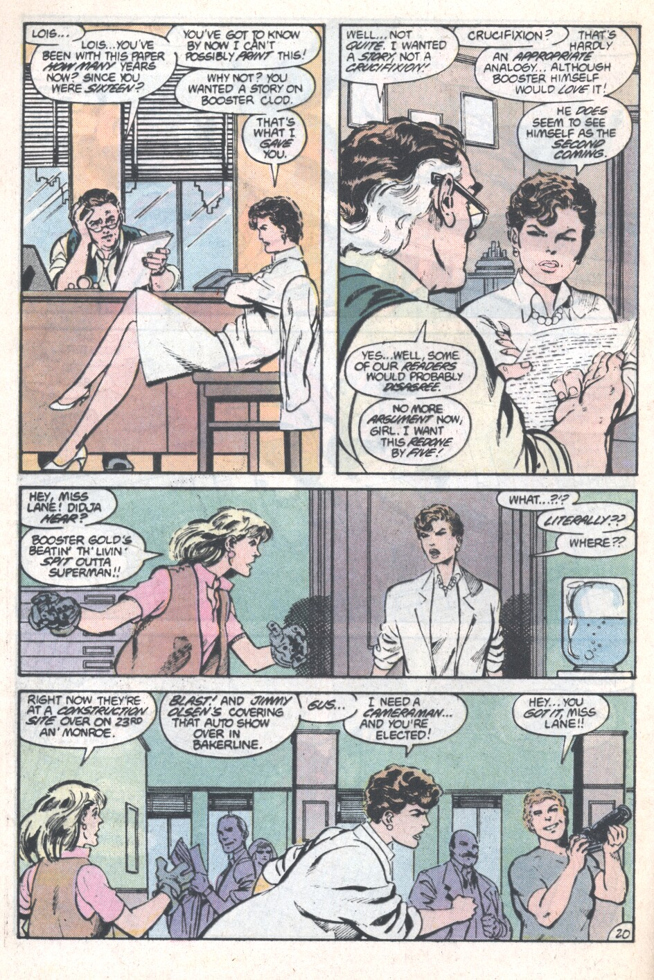 Action Comics (1938) 594 Page 20