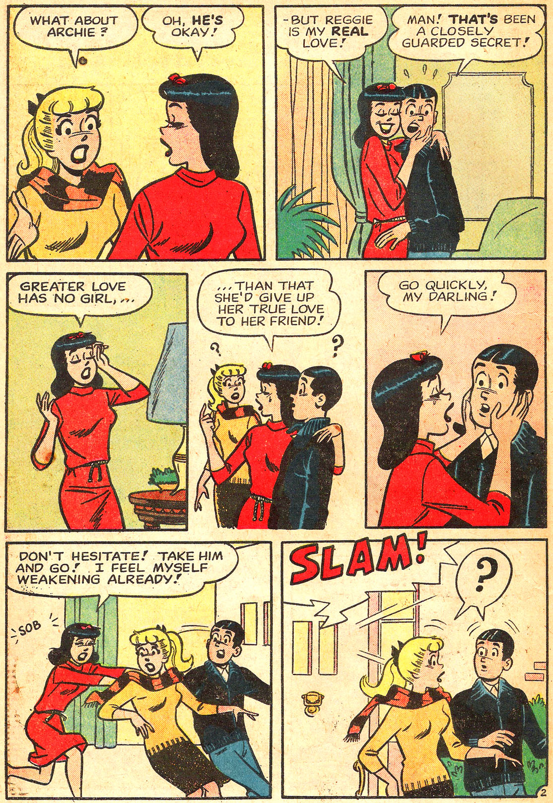 Read online Archie's Girls Betty and Veronica comic -  Issue #87 - 14