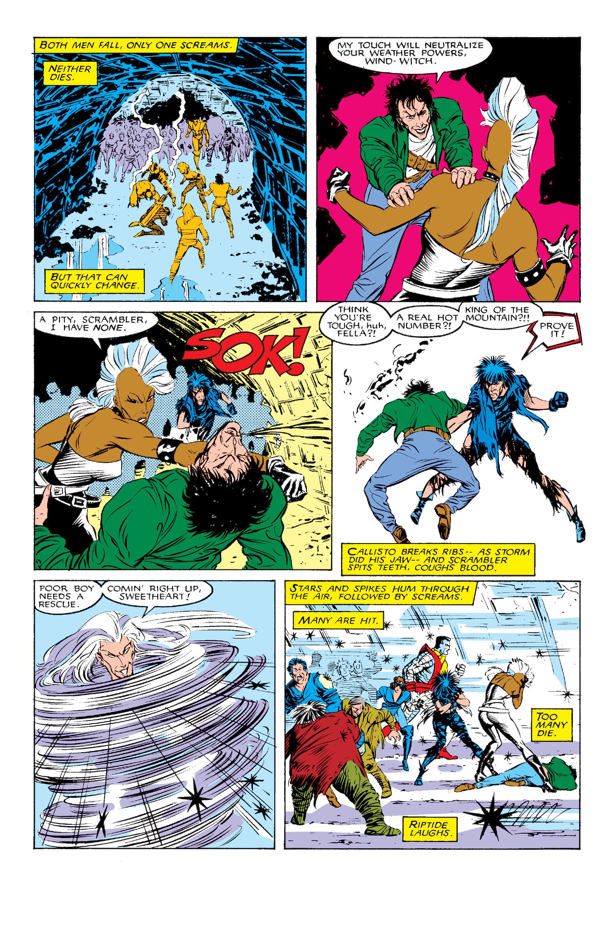 Read online Uncanny X-Men (1963) comic -  Issue #211 - 20