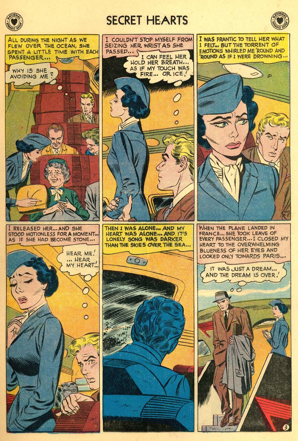 Read online Secret Hearts comic -  Issue #55 - 5