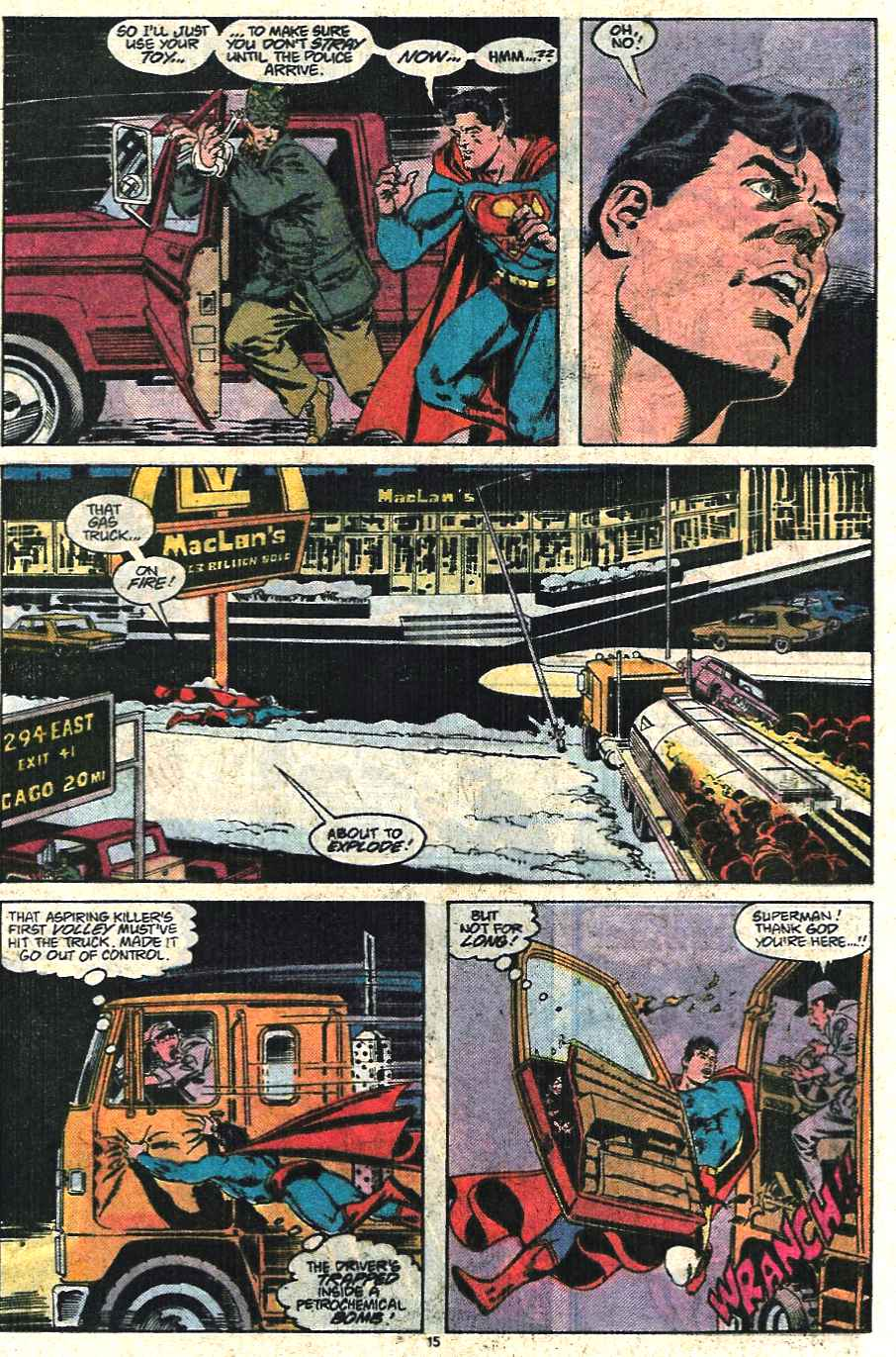 Read online Adventures of Superman (1987) comic -  Issue #440 - 16