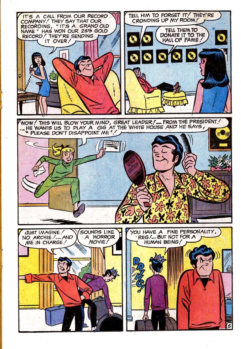 Read online Archie (1960) comic -  Issue #209 - 17