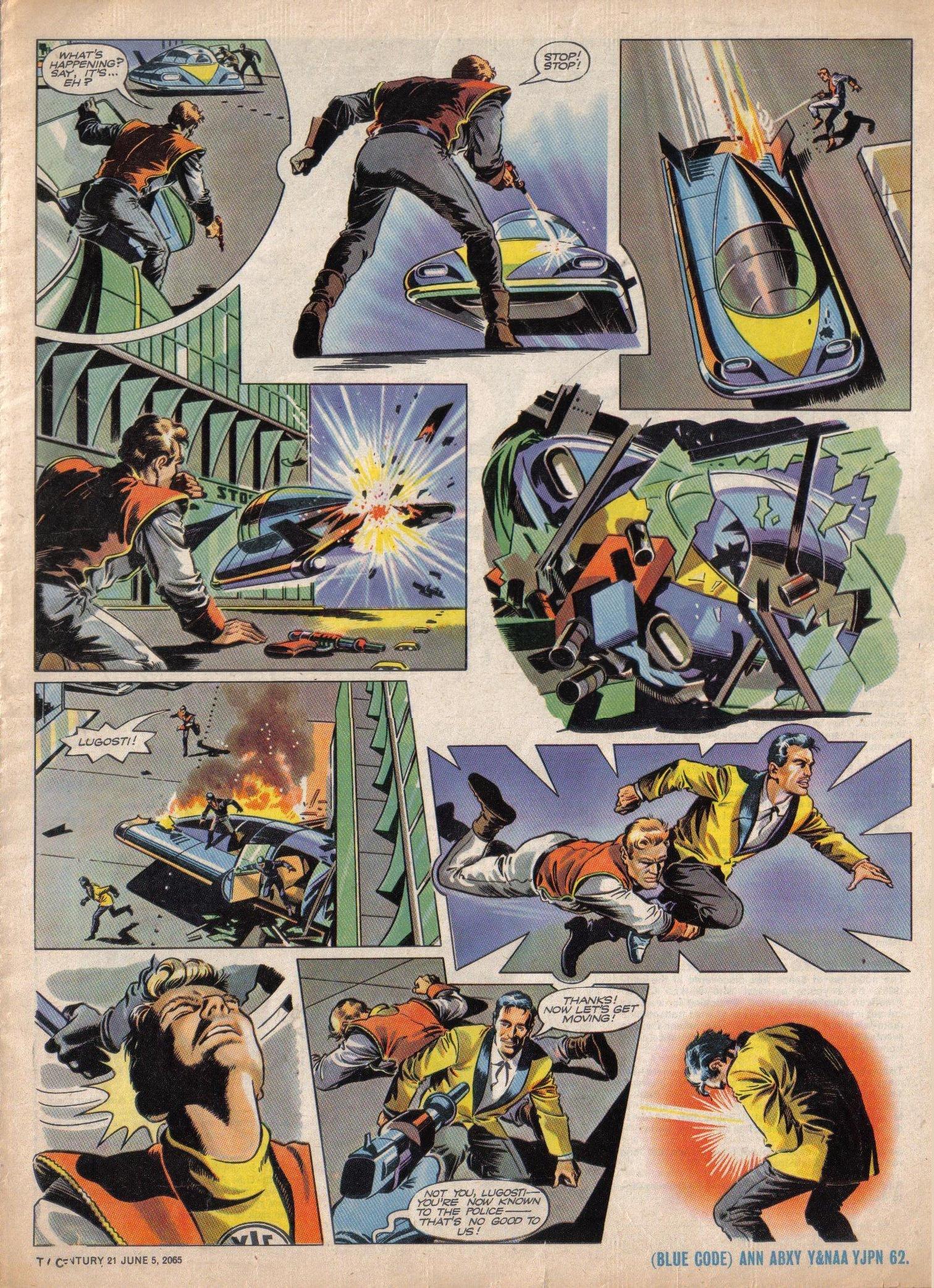 Read online TV Century 21 (TV 21) comic -  Issue #20 - 5
