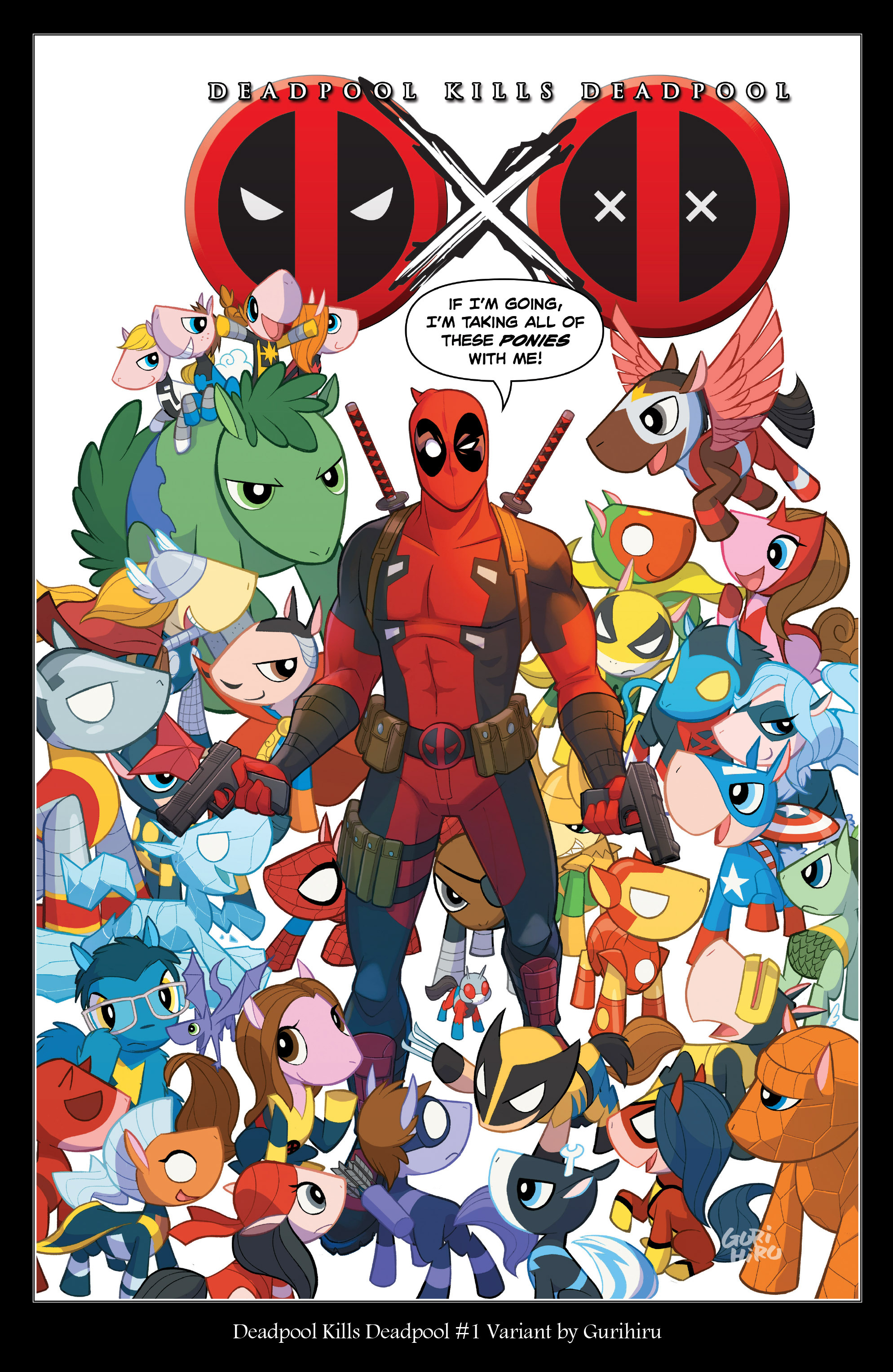 Read online True Believers: Deadpool Variants comic -  Issue # Full - 24
