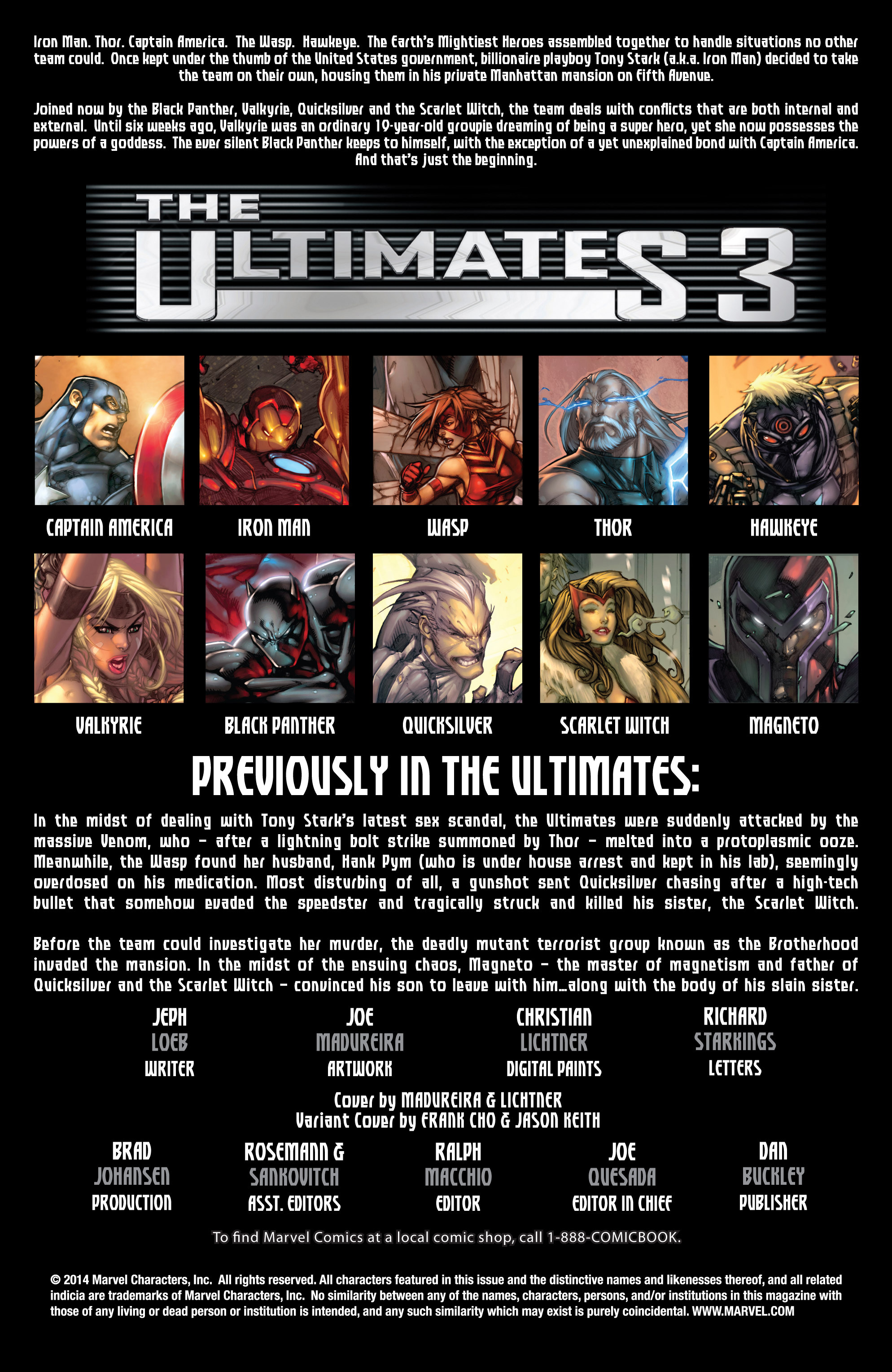 Read online Ultimates 3 comic -  Issue #3 - 2