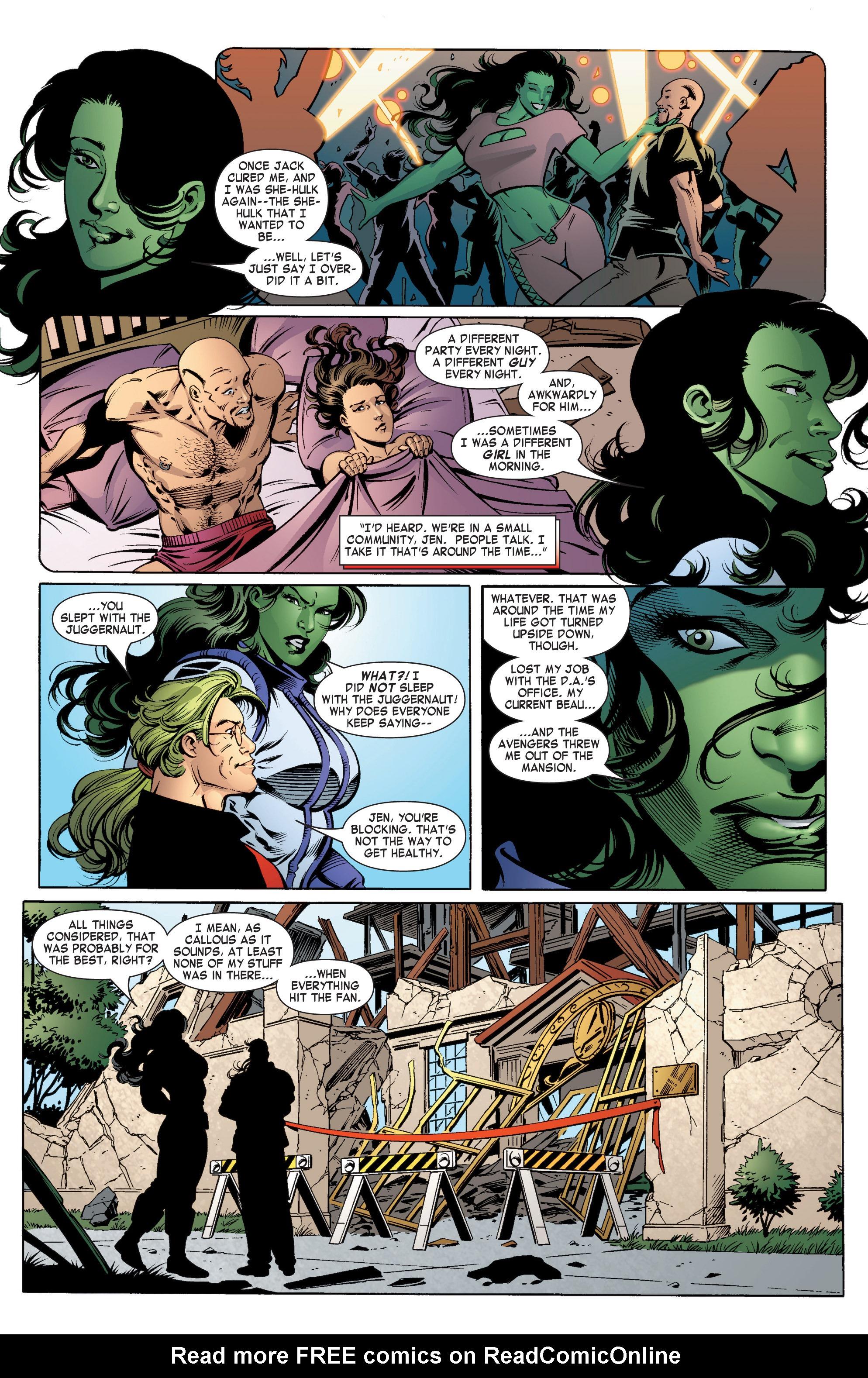 Read online She-Hulk (2004) comic -  Issue #11 - 8