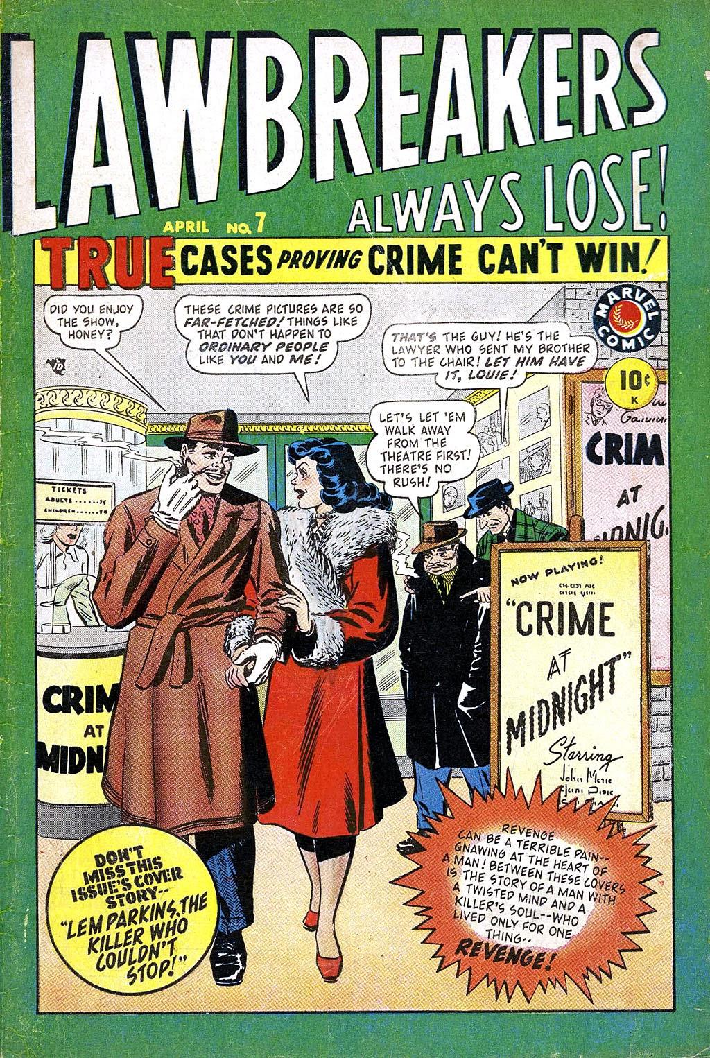 Lawbreakers Always Lose! issue 7 - Page 1