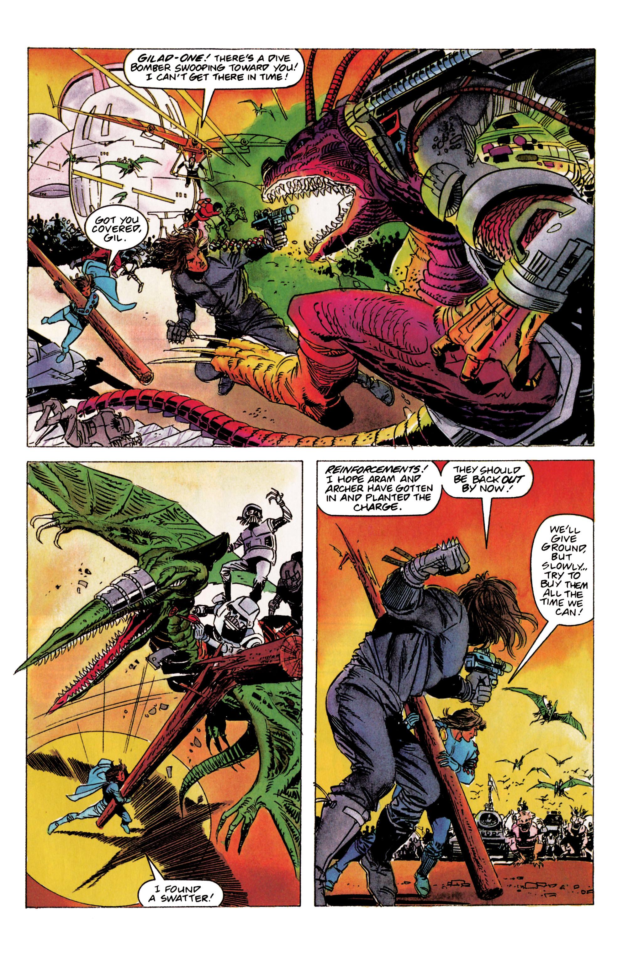 Read online Eternal Warrior (1992) comic -  Issue #2 - 9
