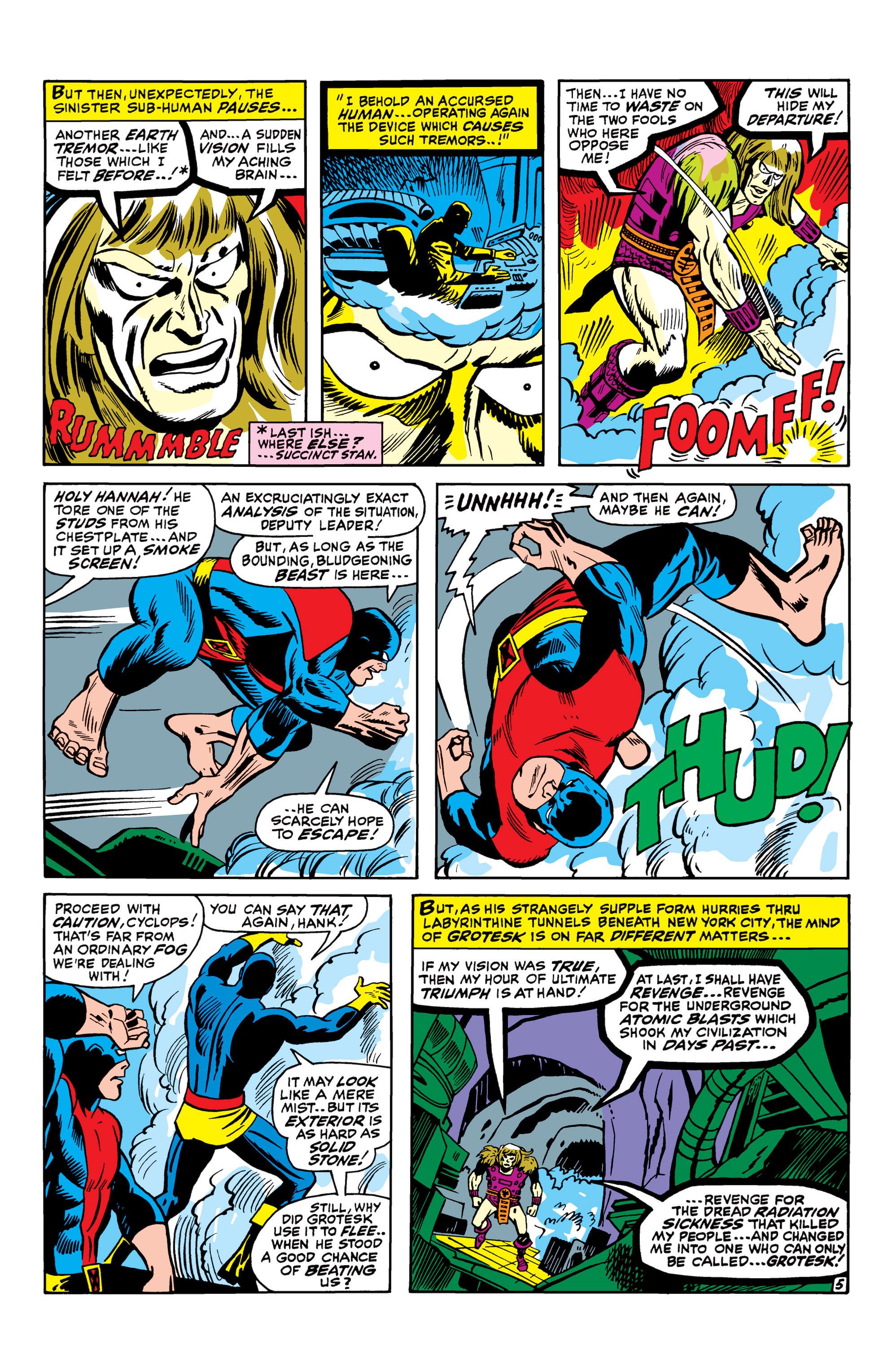 Read online Uncanny X-Men (1963) comic -  Issue #42 - 6