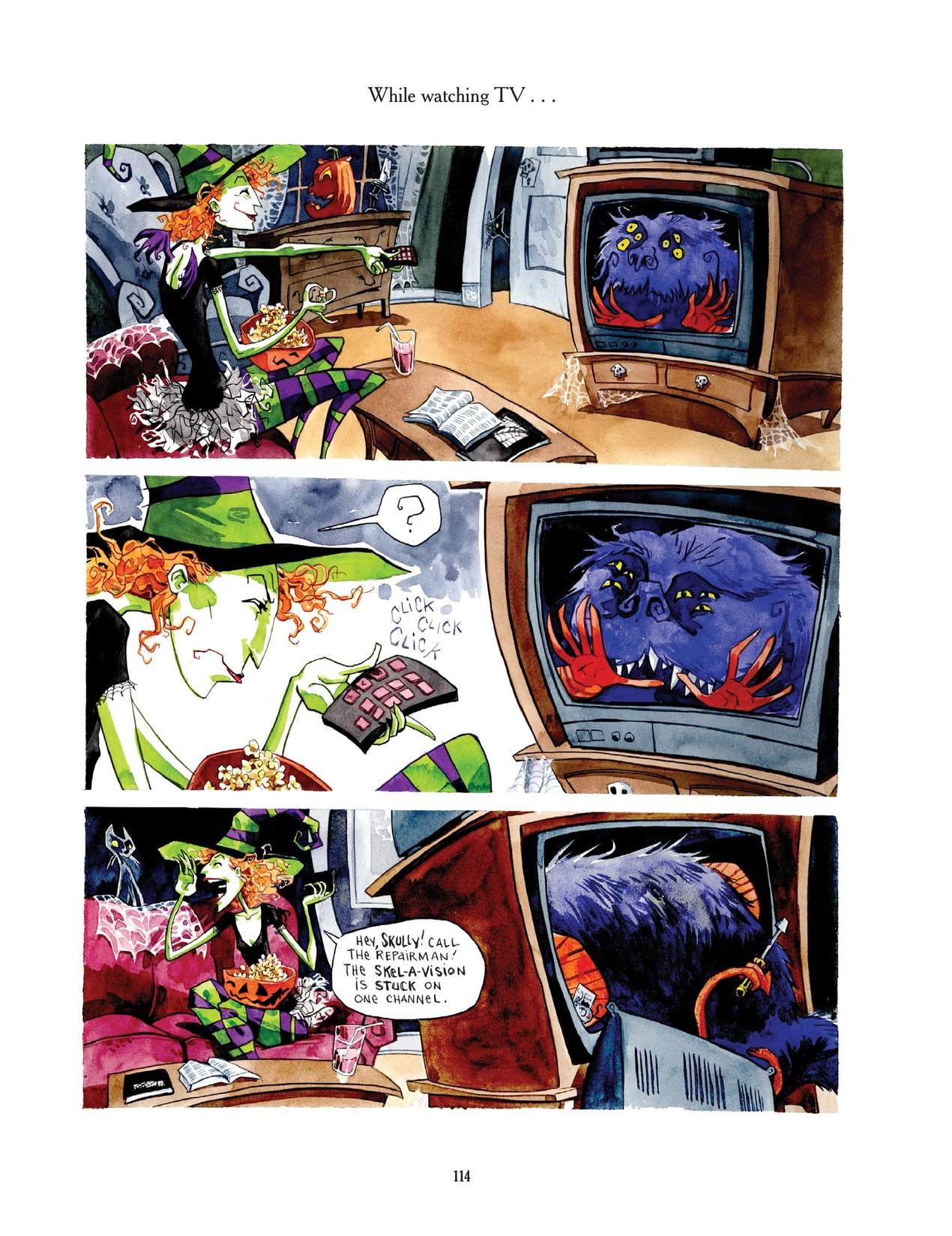 Read online Scary Godmother comic -  Issue # TPB - 114