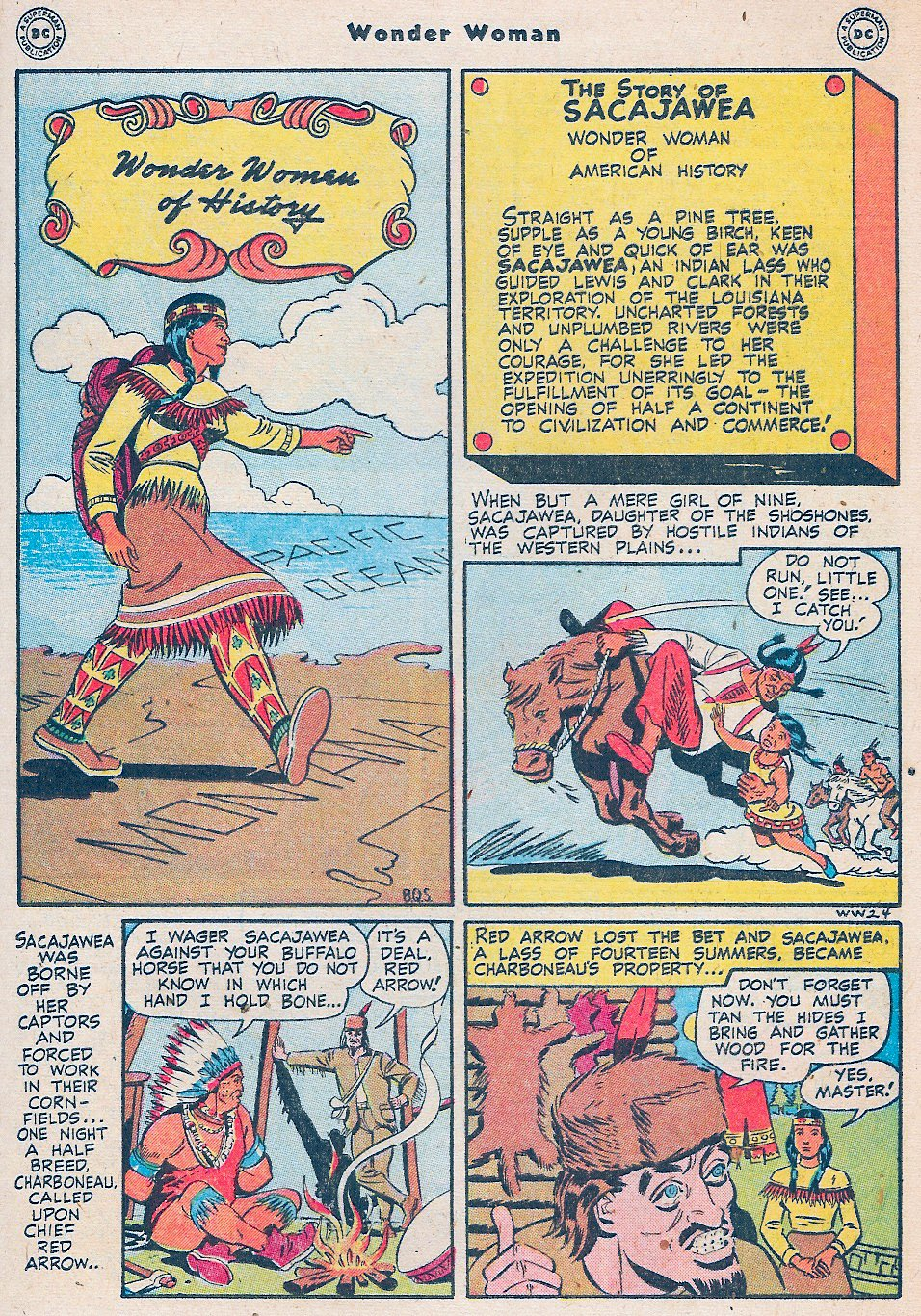 Read online Wonder Woman (1942) comic -  Issue #27 - 17