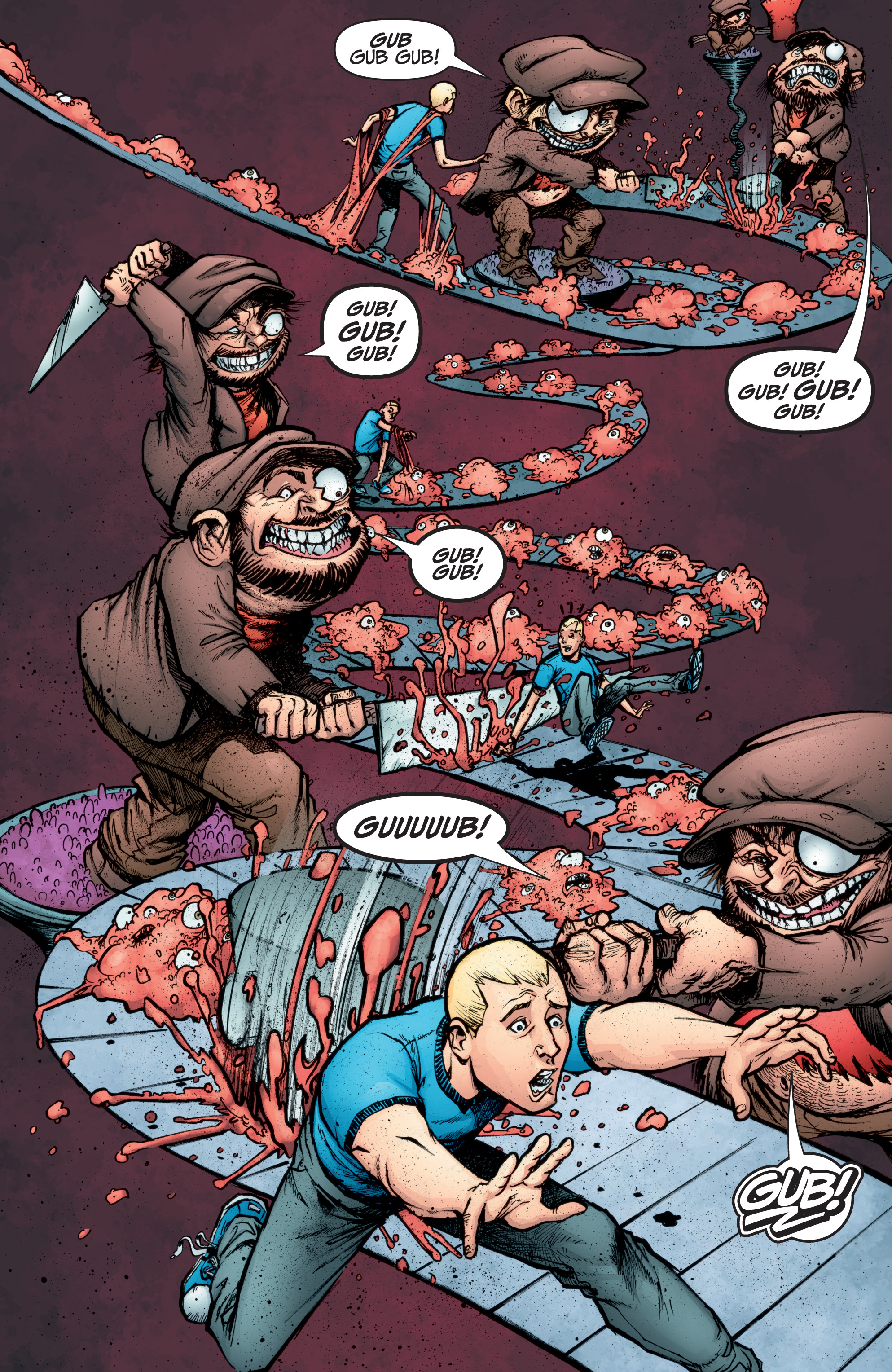 Read online A&A: The Adventures of Archer & Armstrong comic -  Issue #10 - 18