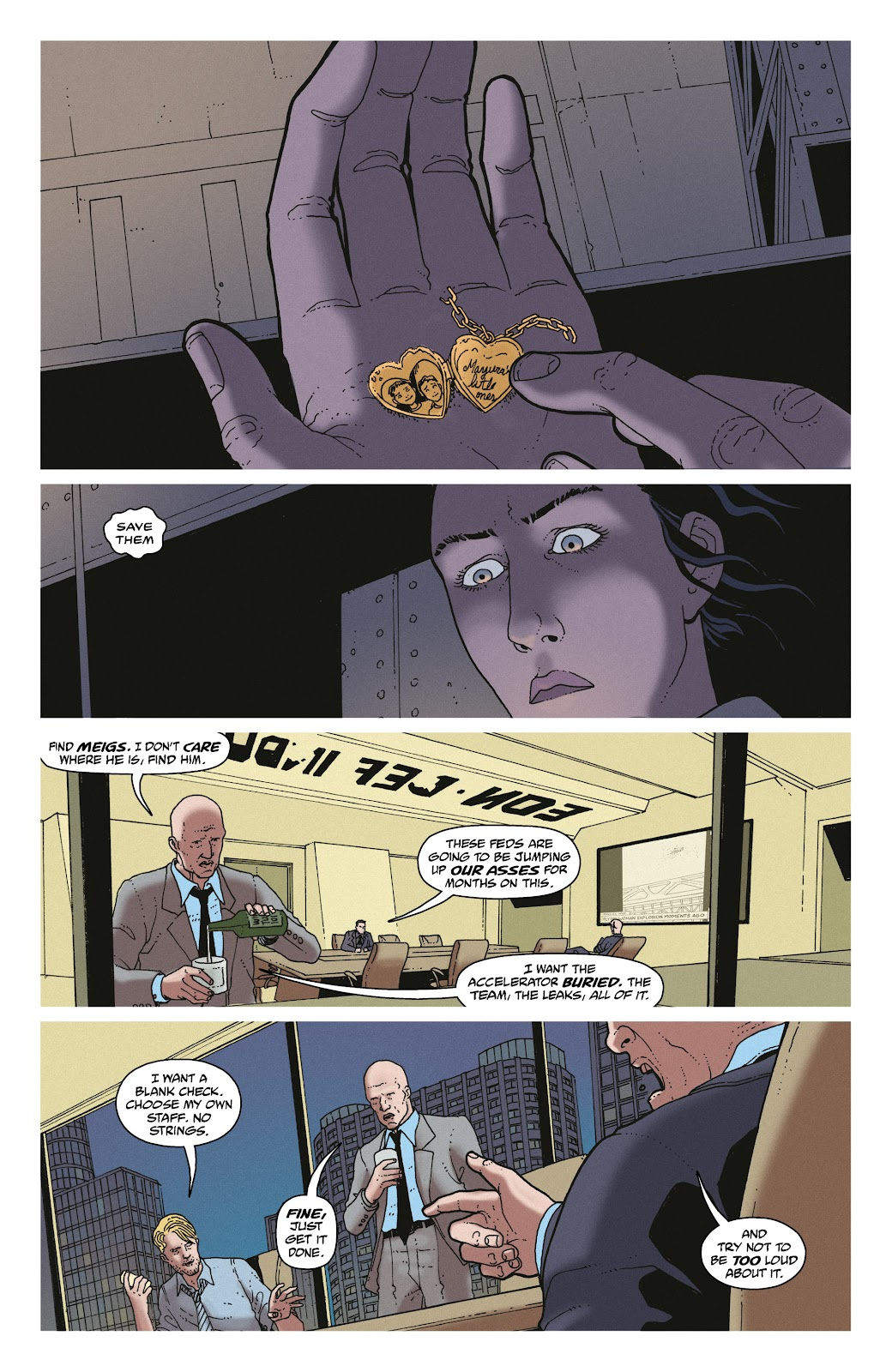 Read online She Could Fly comic -  Issue # _TPB - 38